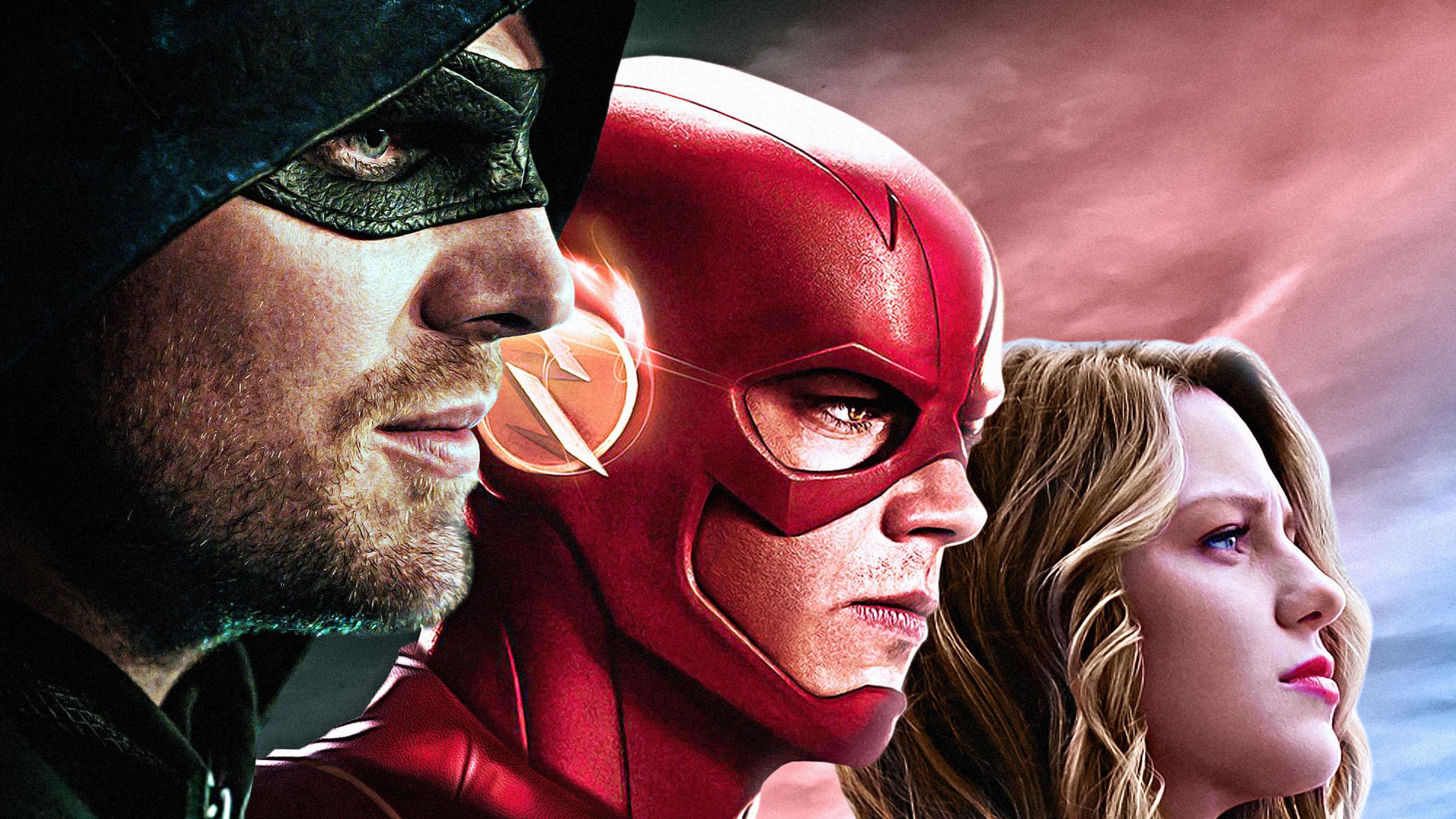 2560x1440 Dc Tv Arrow Flash Supergirl 1440p Resolution Hd 4k