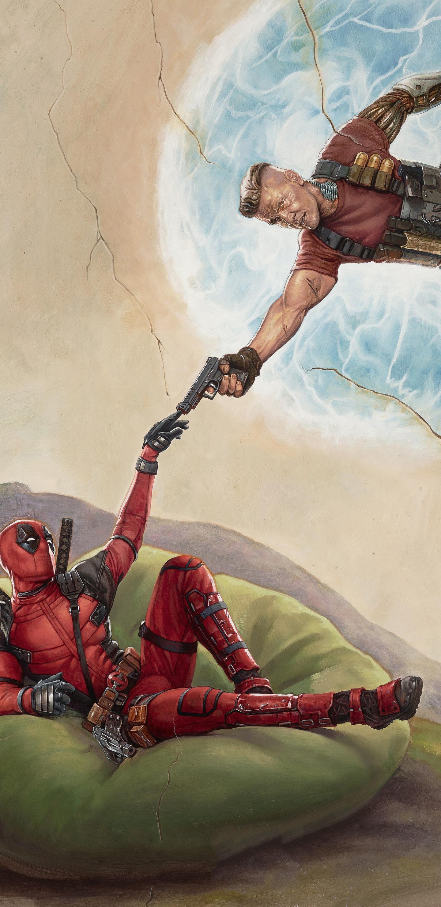 Deadpool 2 2018 Movie Poster (Samsung Galaxy Note 9,8, S9,S8,S8+ QHD)