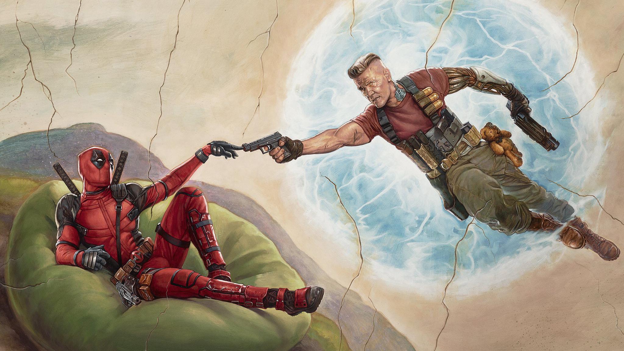 2048x1152 Deadpool 2 2018 Movie Poster 2048x1152 Resolution Hd 4k