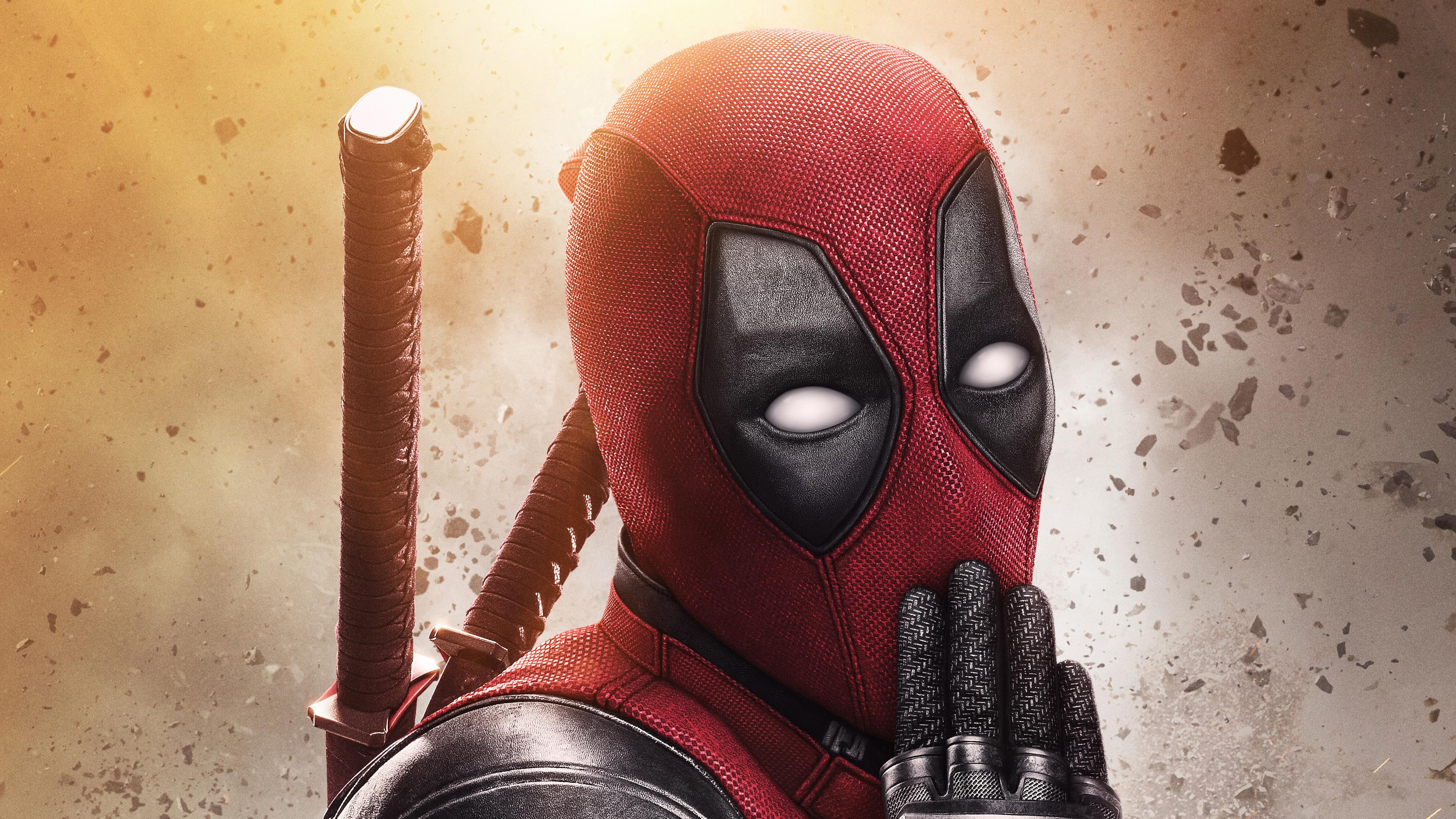 Deadpool 2 5k New Poster 4k HD 4k