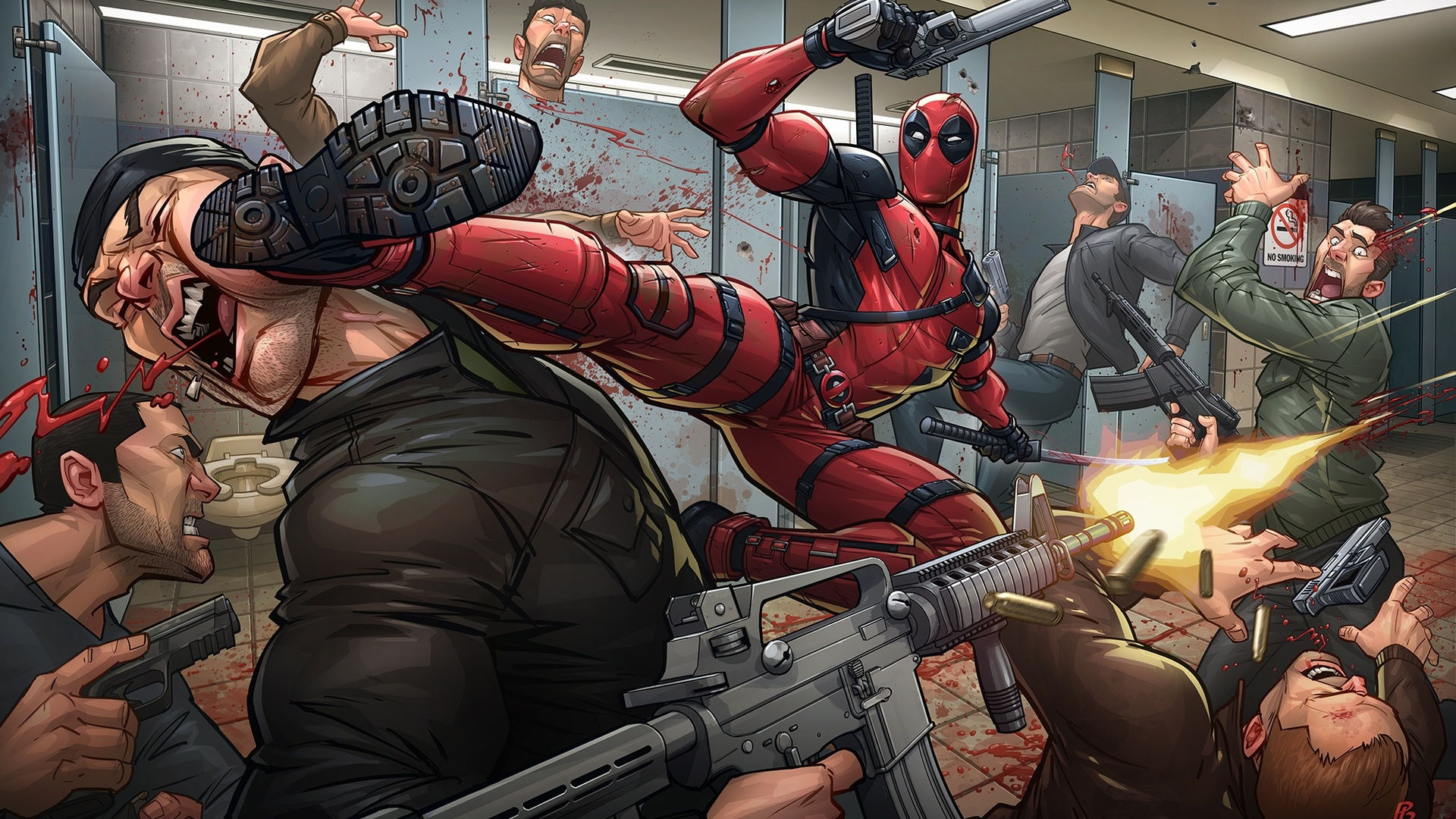 1920x1080 Deadpool 2 Fanart Laptop Full Hd 1080p Hd 4k Wallpapers