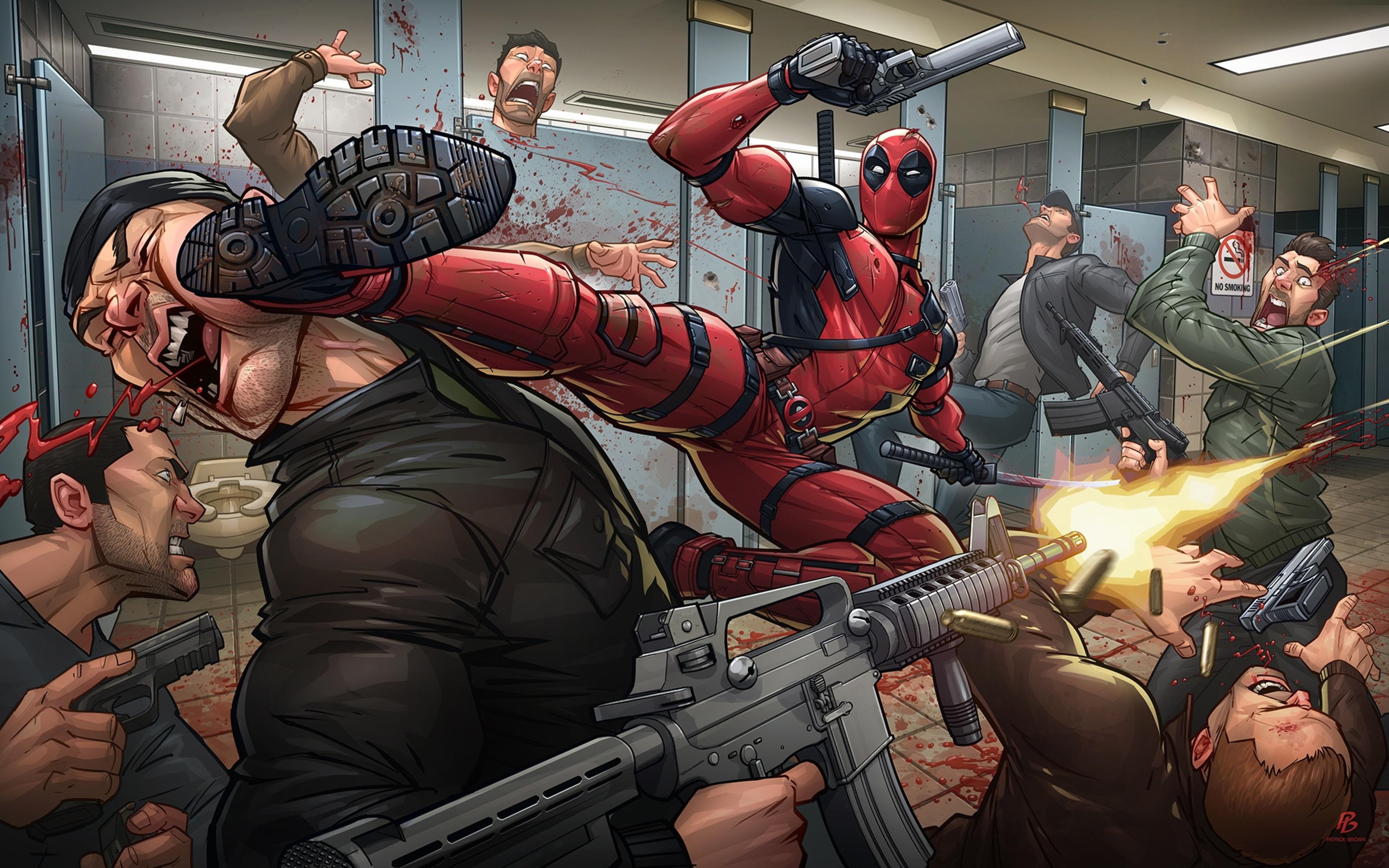 Deadpool 2 Fanart Pc