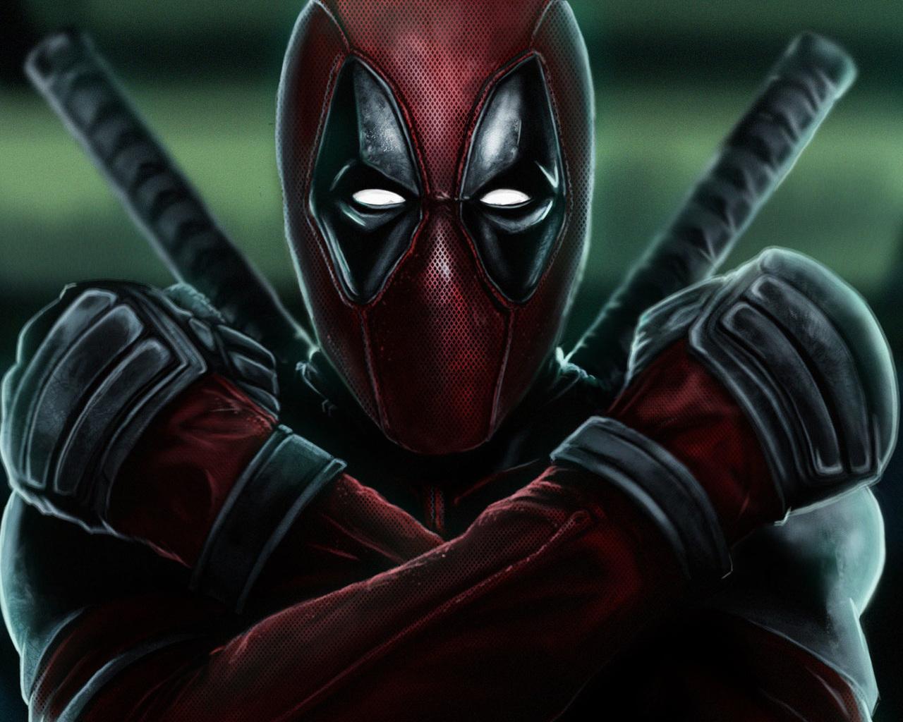 1280x1024 Deadpool 2 X Force Art