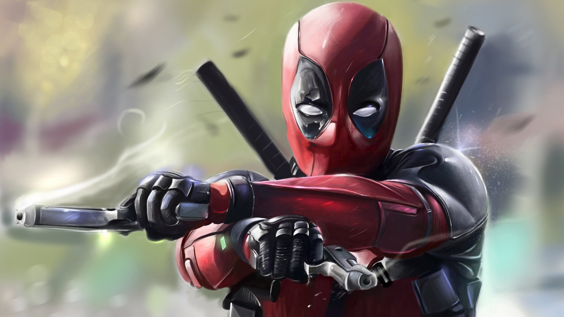 1920x1080 Deadpool 2016 Art Laptop Full Hd 1080p Hd 4k Wallpapers