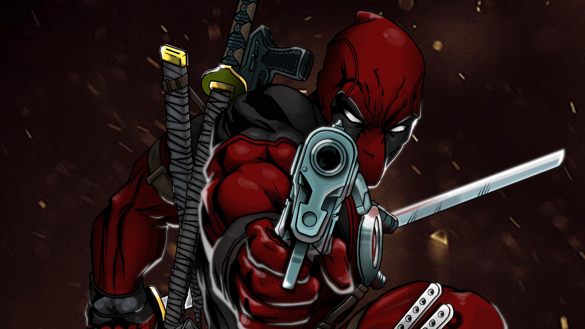 1920x1080 Deadpool 4k Art Laptop Full HD 1080P HD 4k ...
