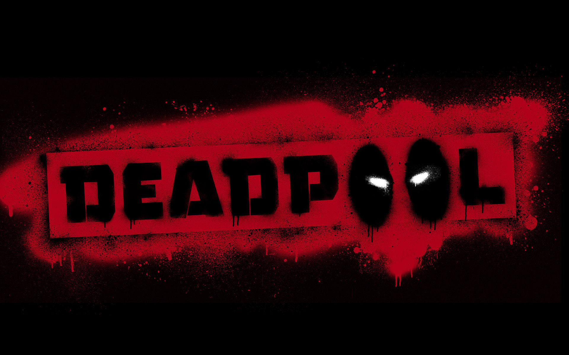 Deadpool Room Wallpaper
