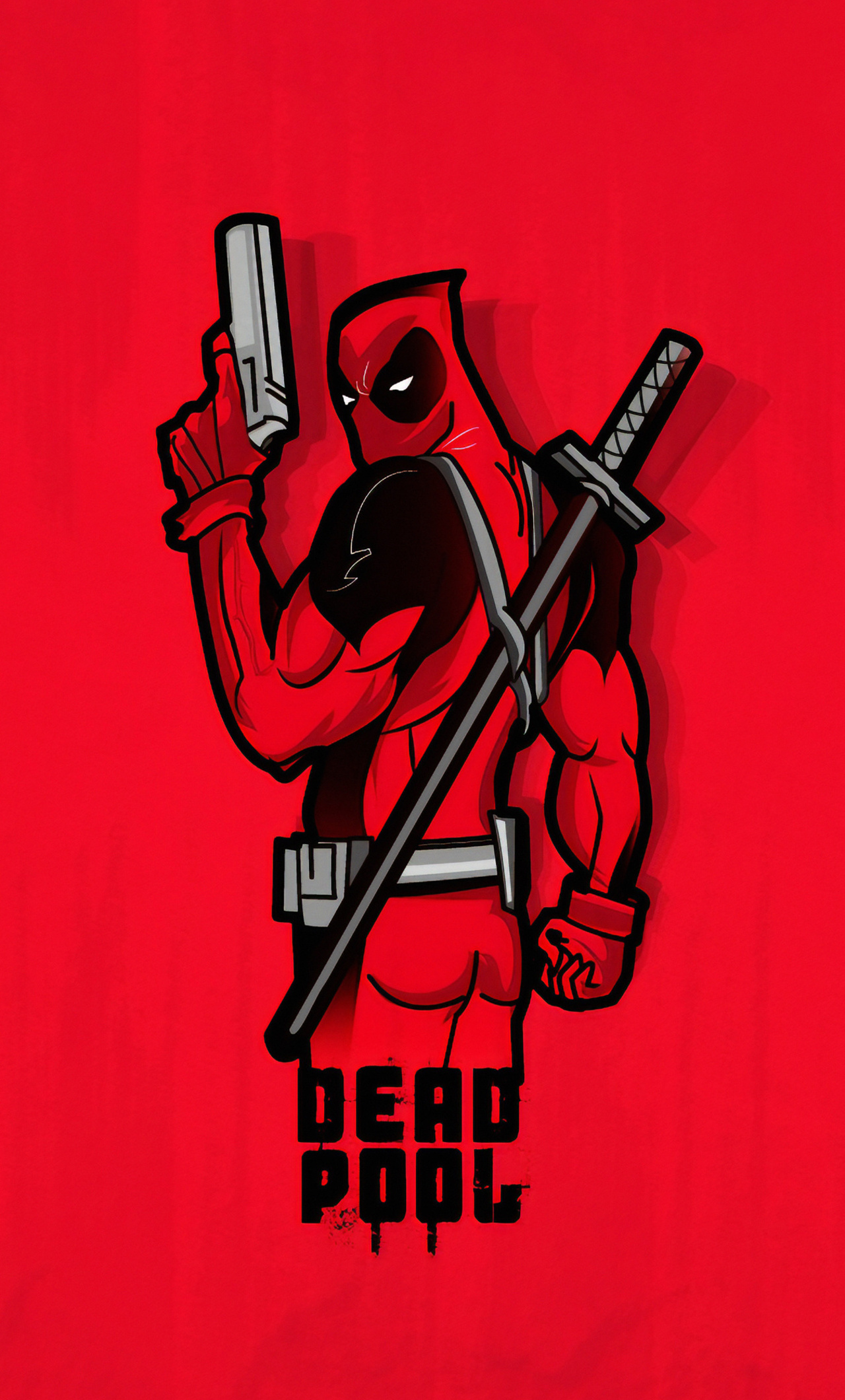 1280x2120 Deadpool 4k Minimal Iphone 6 Hd 4k Wallpapers Images Backgrounds Photos And Pictures