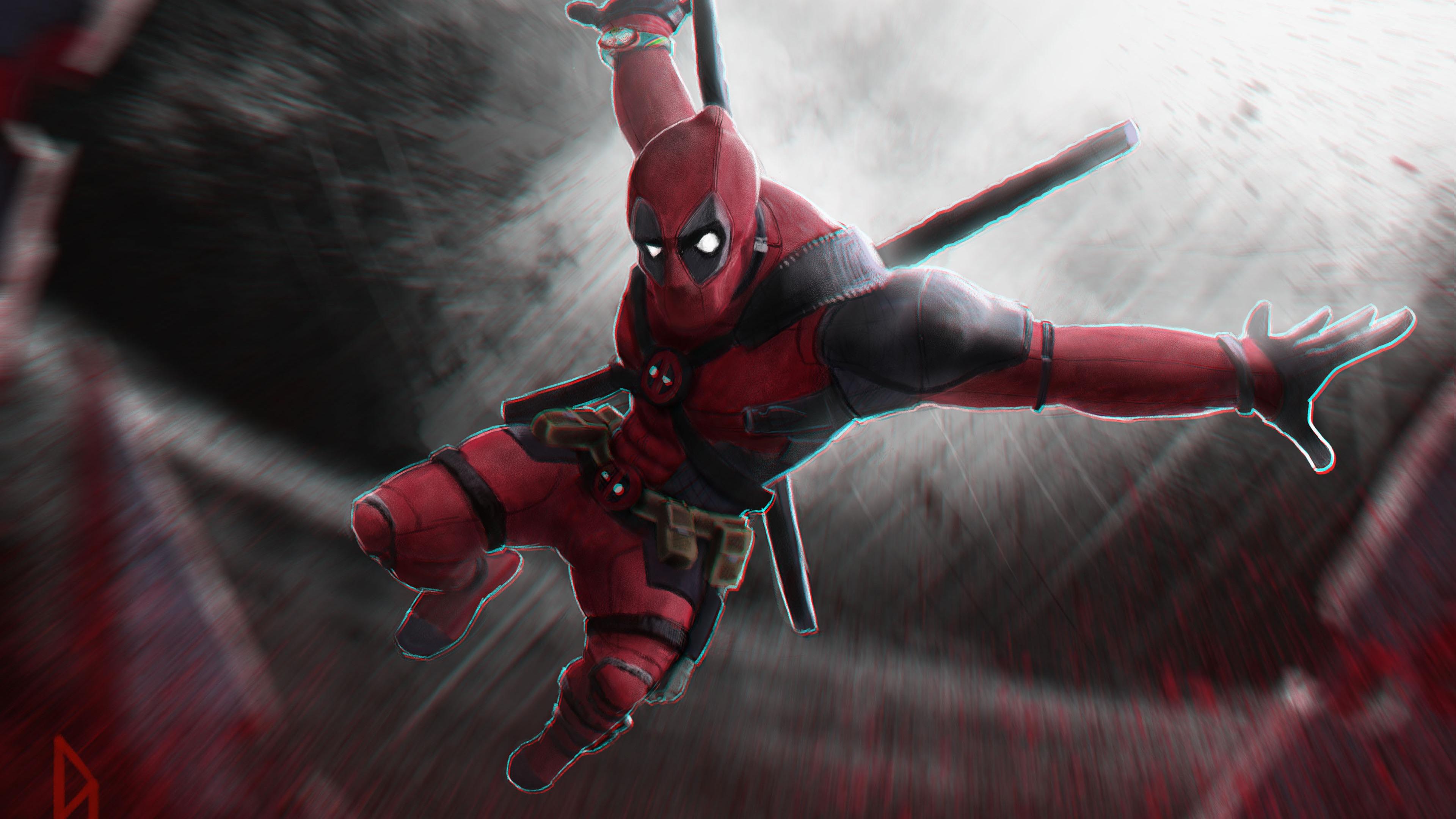 3840x2160 Deadpool 4k New Art 4k HD 4k ...