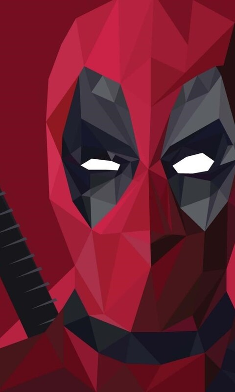 480x800 deadpool abstract art galaxy note htc desire nokia - Superhero iphone wallpaper hd ...