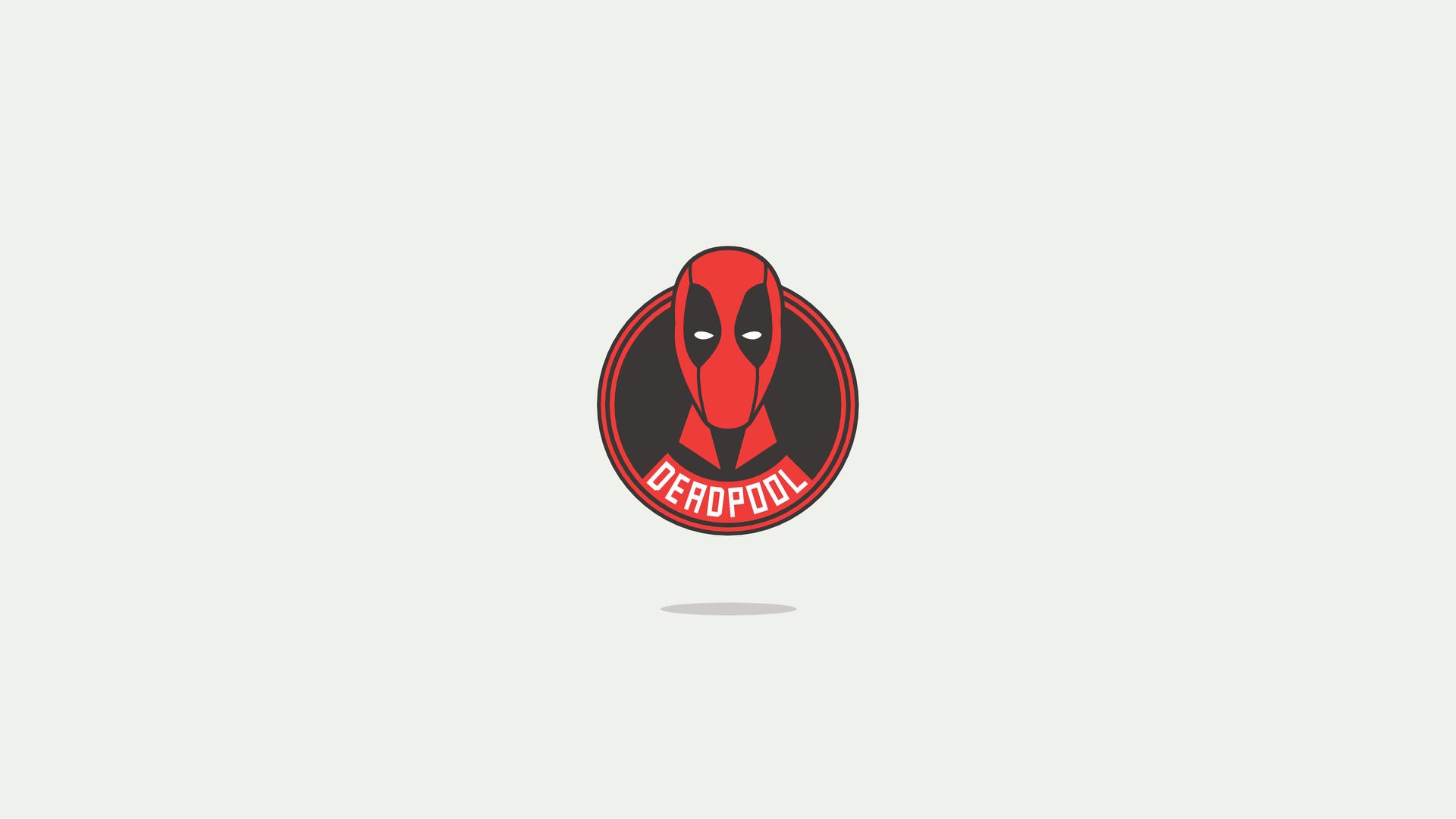 1920x1080 Deadpool America Minimal Logo 4k Laptop Full Hd