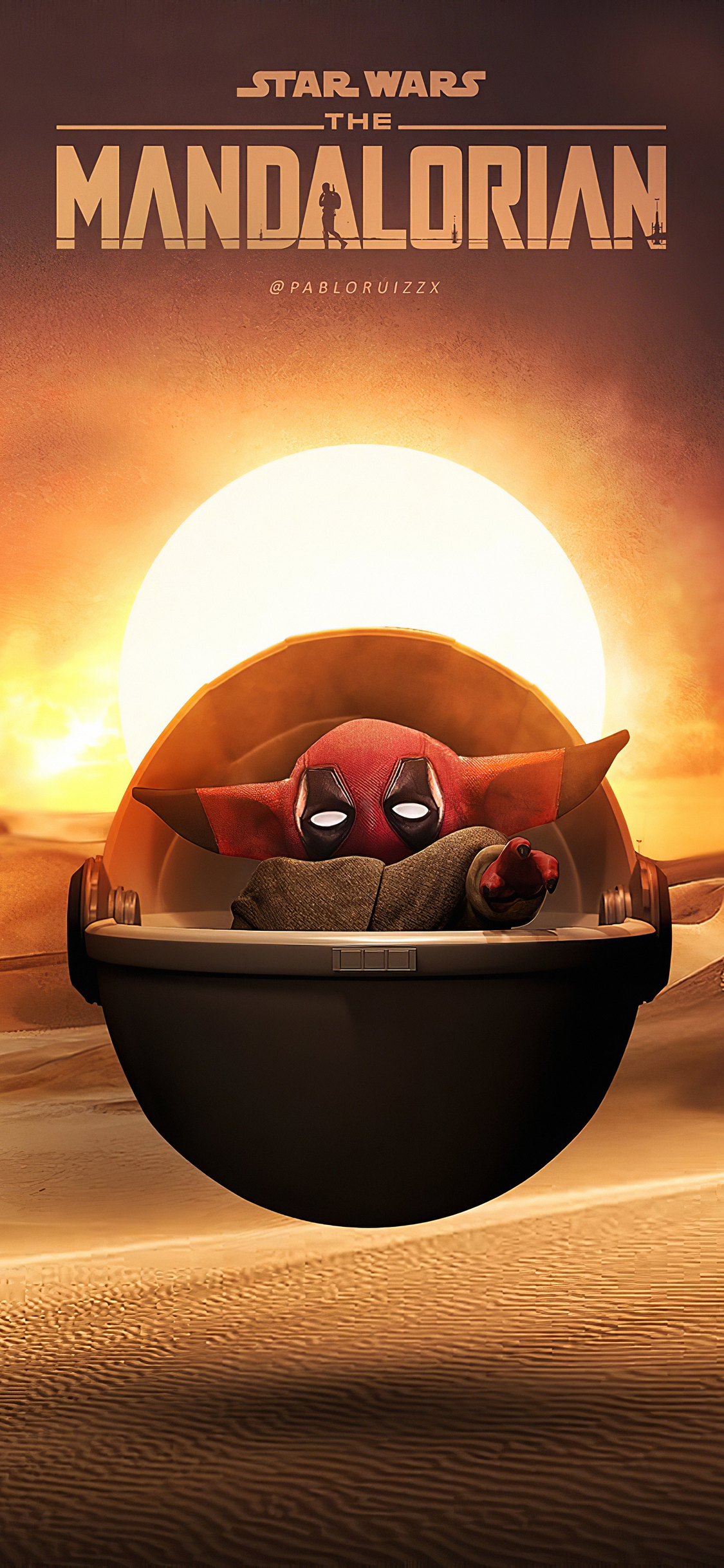 1125x2436 Deadpool Baby Yoda Iphone Xs Iphone 10 Iphone X Hd 4k Wallpapers Images Backgrounds Photos And Pictures