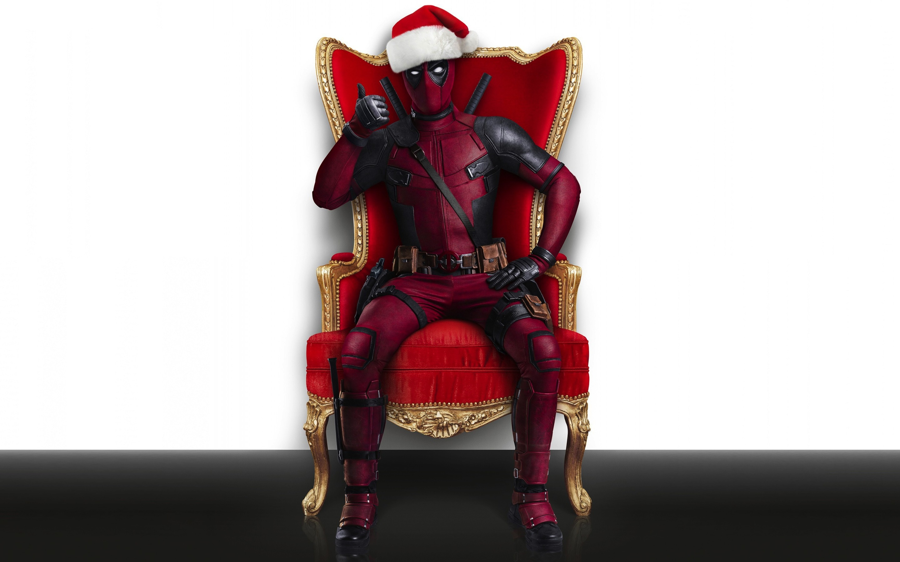2880x1800 Deadpool Christmas Macbook Pro Retina Hd 4k Wallpapers