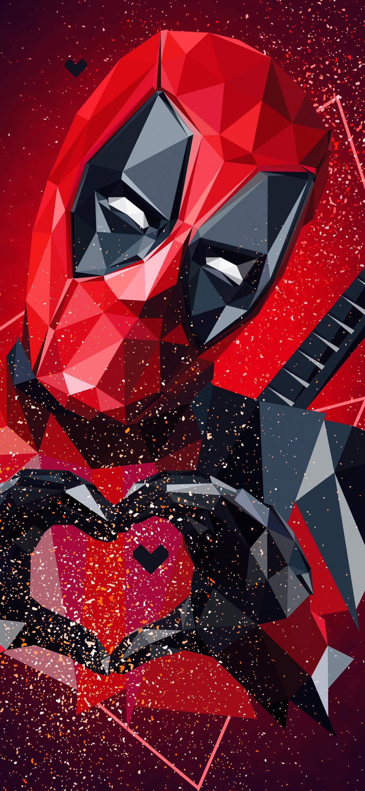 1242x2688 Deadpool Digital Art 4k Iphone Xs Max Hd 4k Wallpapers