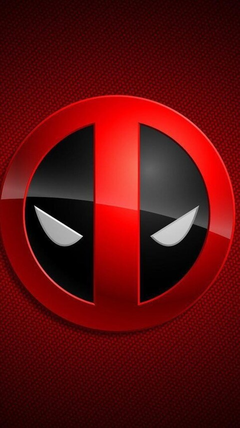 480x854 deadpool game logo android one hd 4k wallpapers