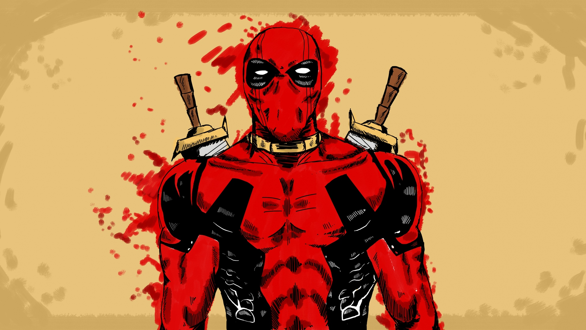 1920x1080 Deadpool Marvel Comic Art Laptop Full Hd 1080p Hd 4k Wallpapers Images Backgrounds Photos And Pictures