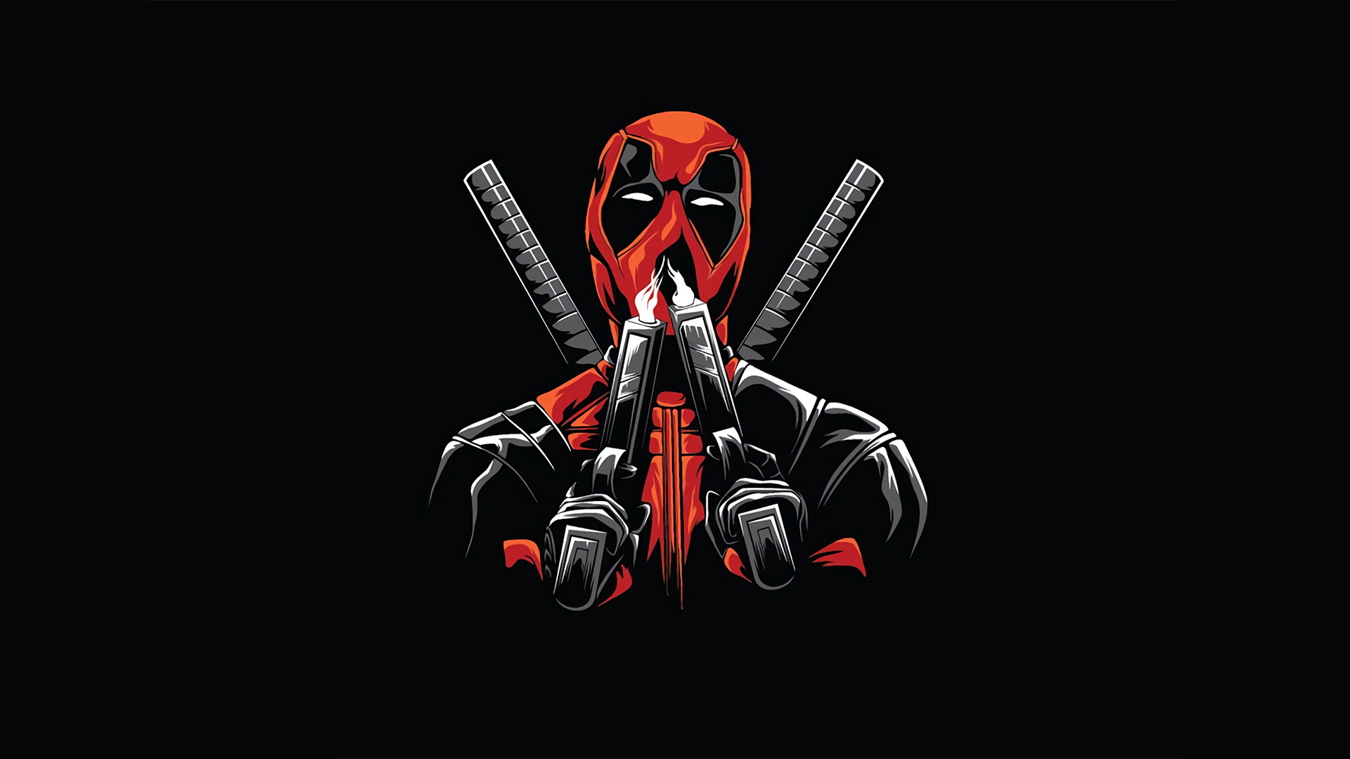 1920x1080 Deadpool Minimal Design Laptop Full Hd 1080p Hd 4k Wallpapers Images Backgrounds Photos And Pictures
