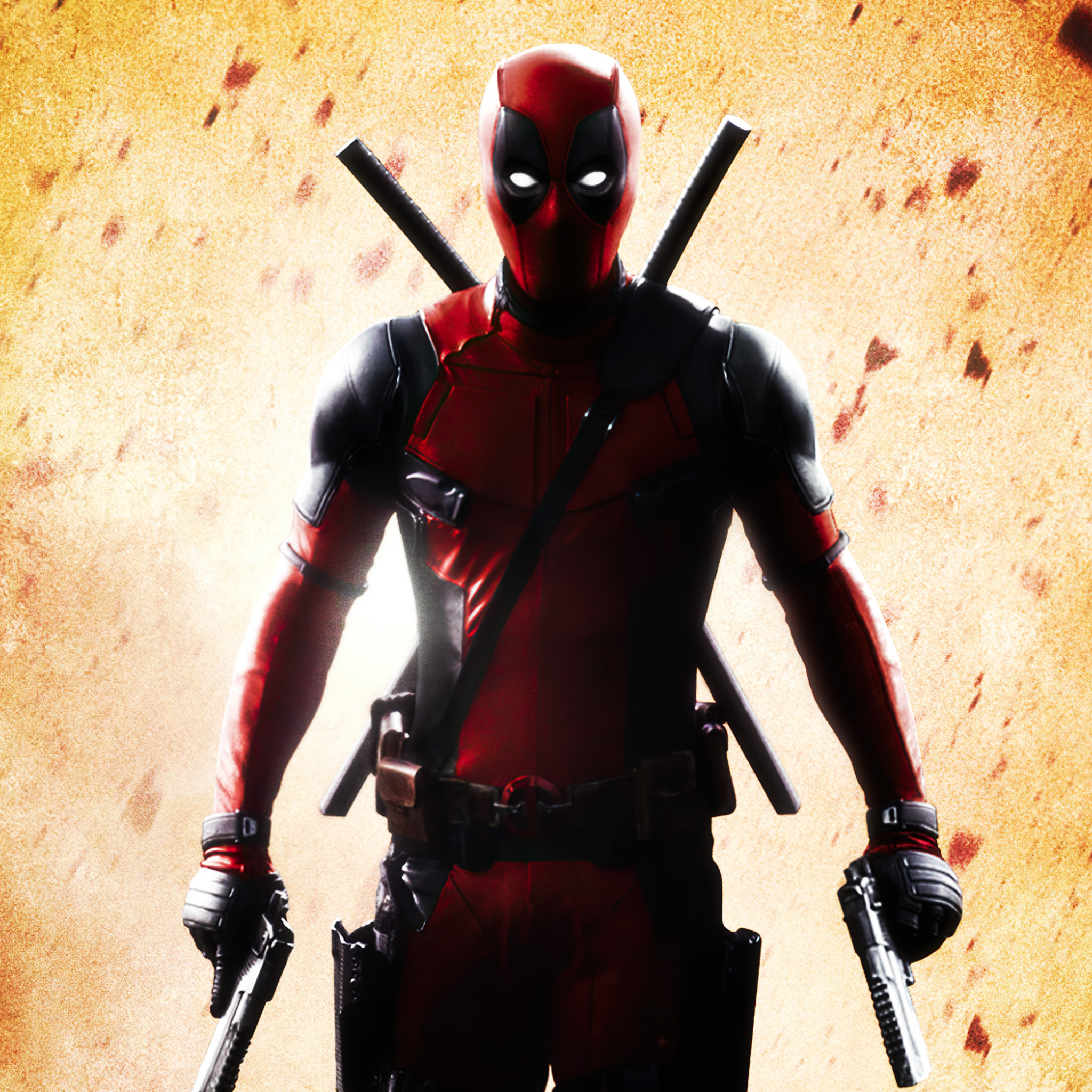 2048x2048 Deadpool Superhero 4k Ipad Air HD 4k Wallpapers ...