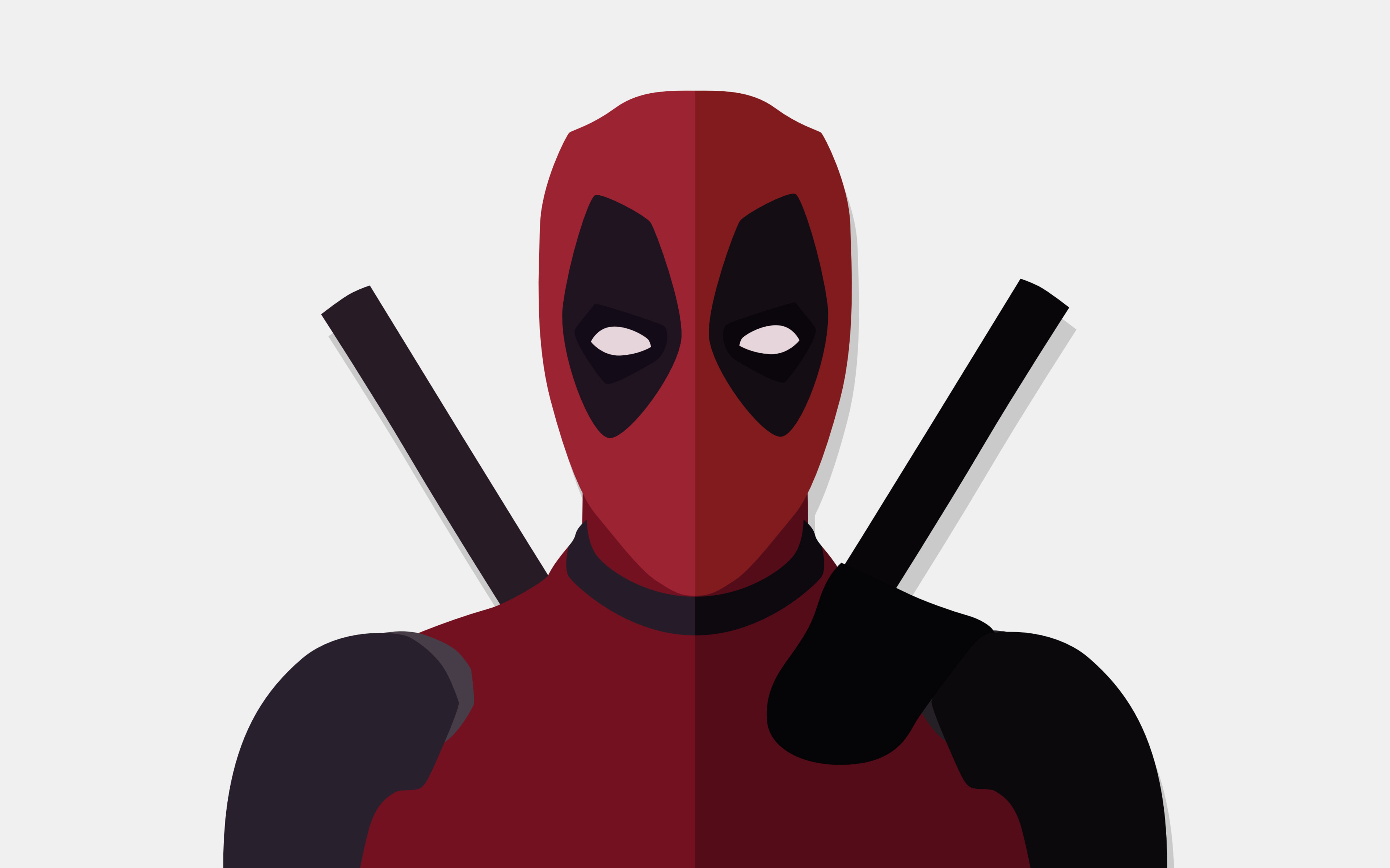 3840x2400 Deadpool Vector Minimalism 4k 4k Hd 4k Wallpapers Images Backgrounds Photos And Pictures