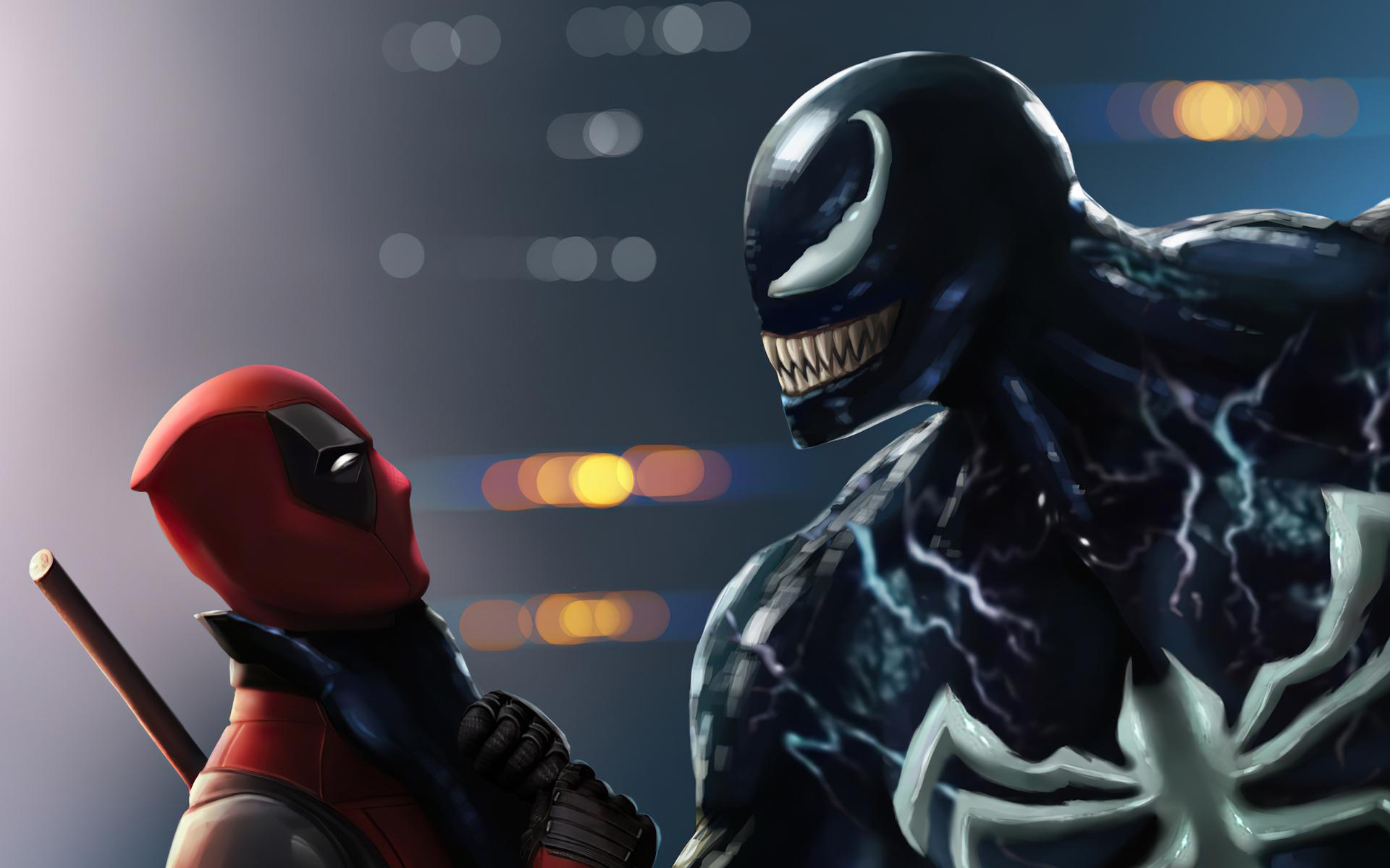 1920x1200 Deadpool Venom 4k 1080P Resolution HD 4k ...
