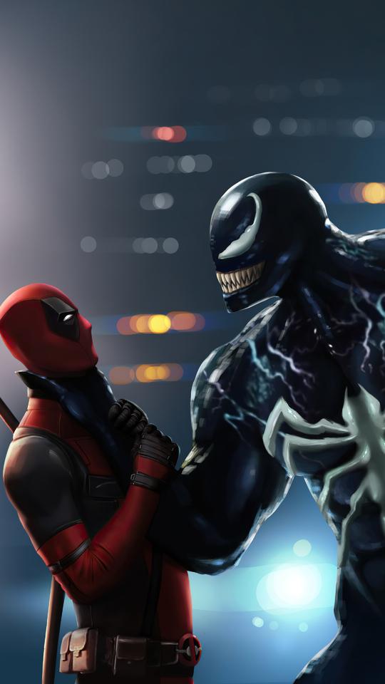 540x960 Deadpool Venom 4k 540x960 Resolution HD 4k ...