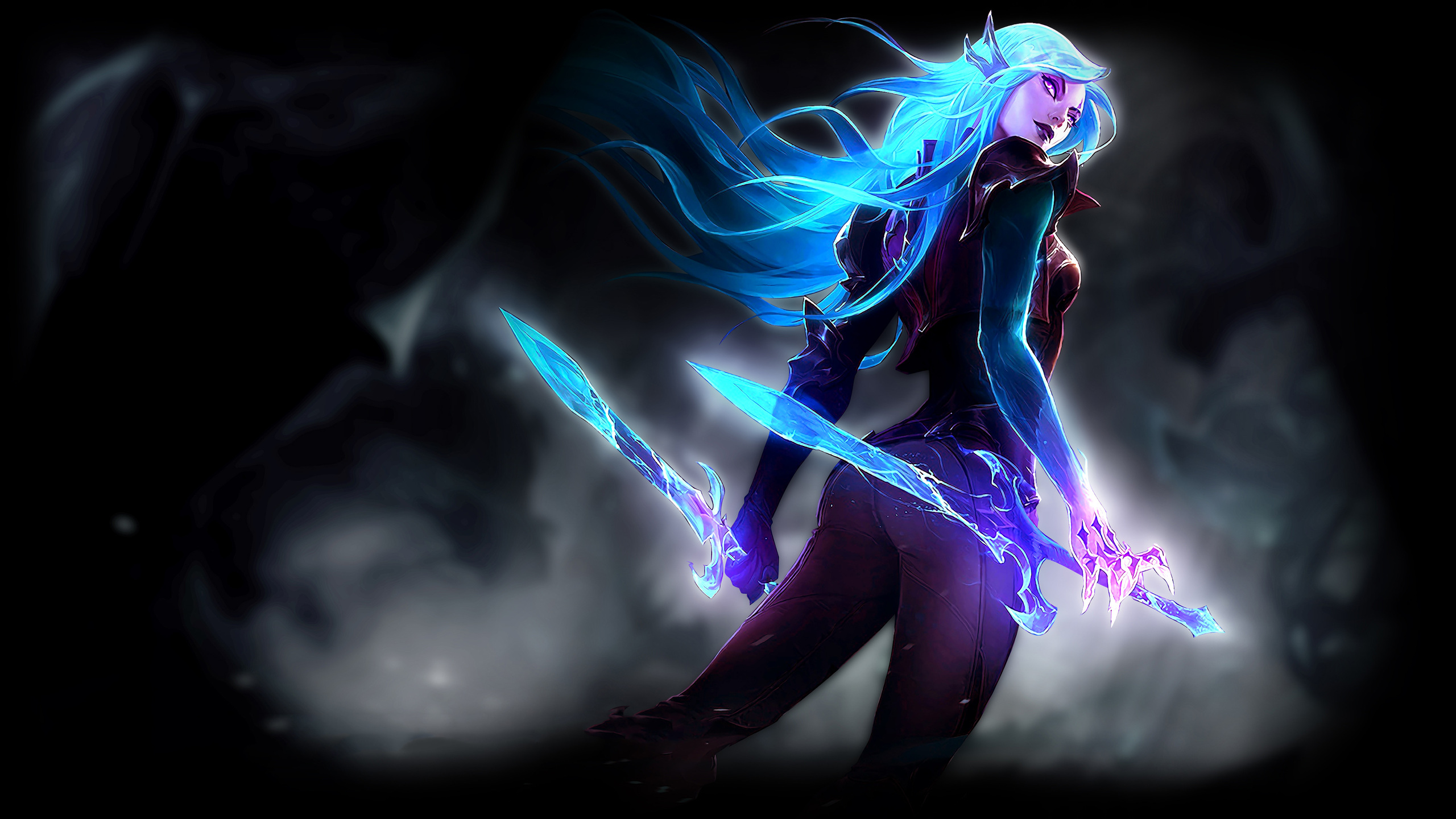 2560x1440 Death Sworn Katarina League Of Legends 1440p Resolution