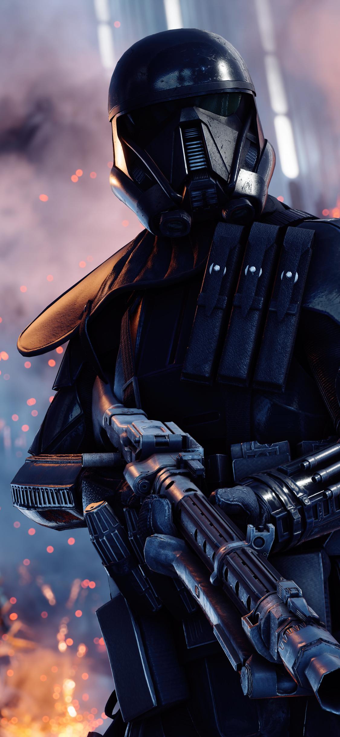 1125x2436 Death Trooper Star Wars Battlefront II Iphone XS ...