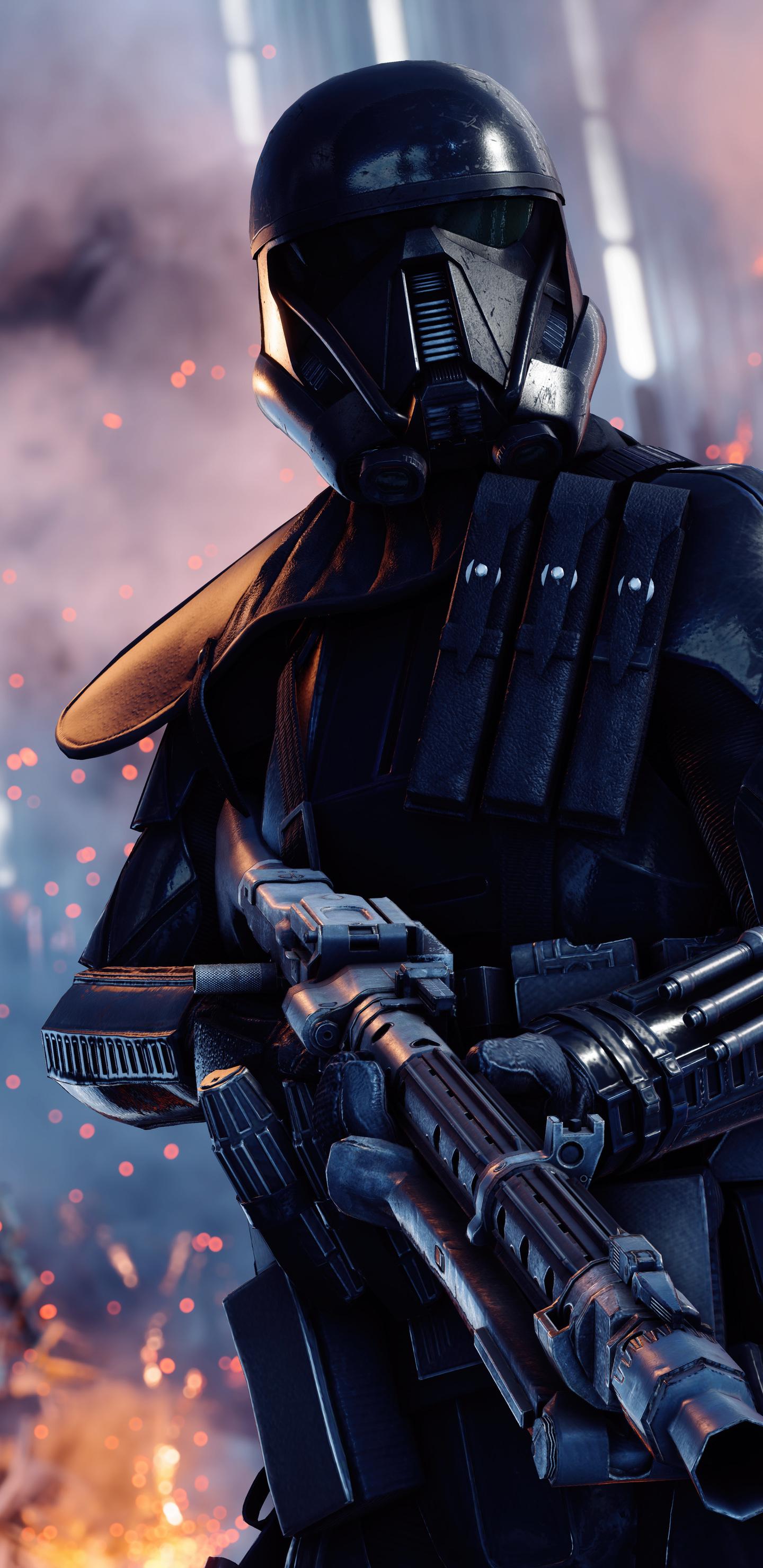 1440x2960 Death Trooper Star Wars Battlefront Ii Samsung