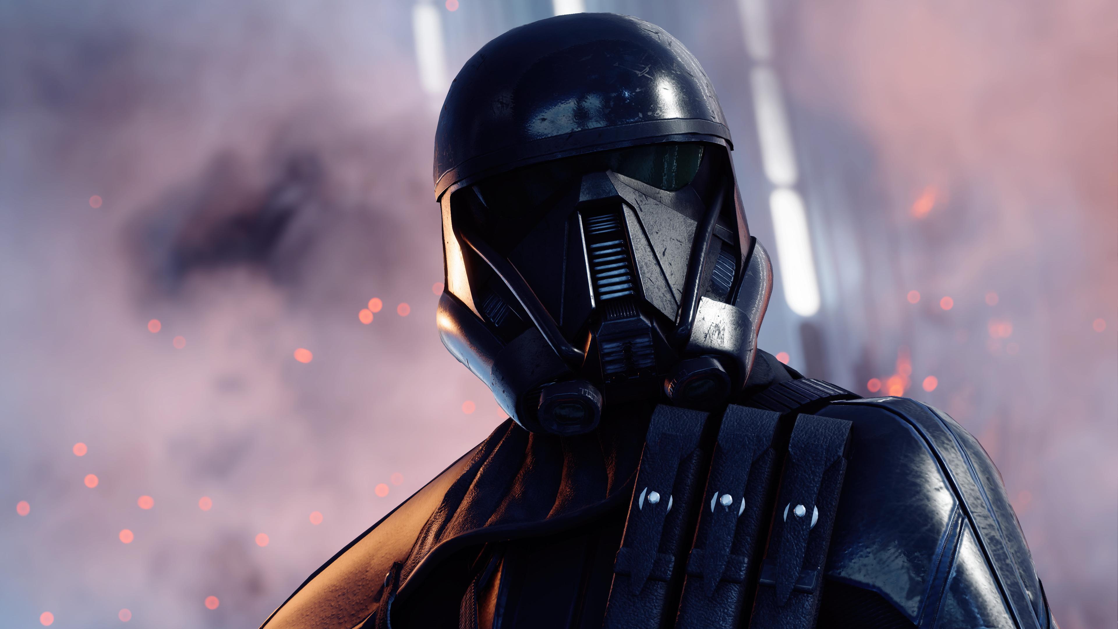 3840x2160 Death Trooper Star Wars Battlefront II 4k HD 4k ...