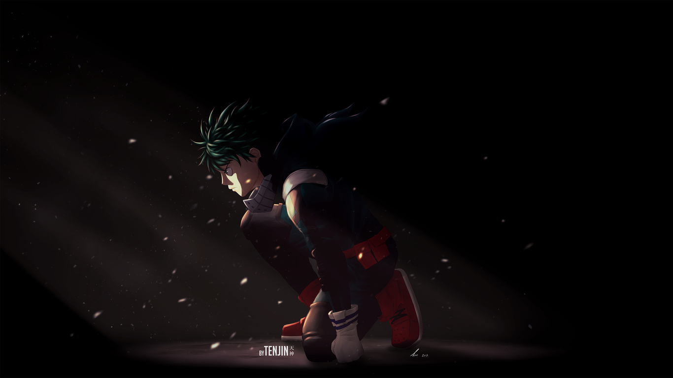 1366x768 Deku My Hero Academia 1366x768 Resolution Hd 4k