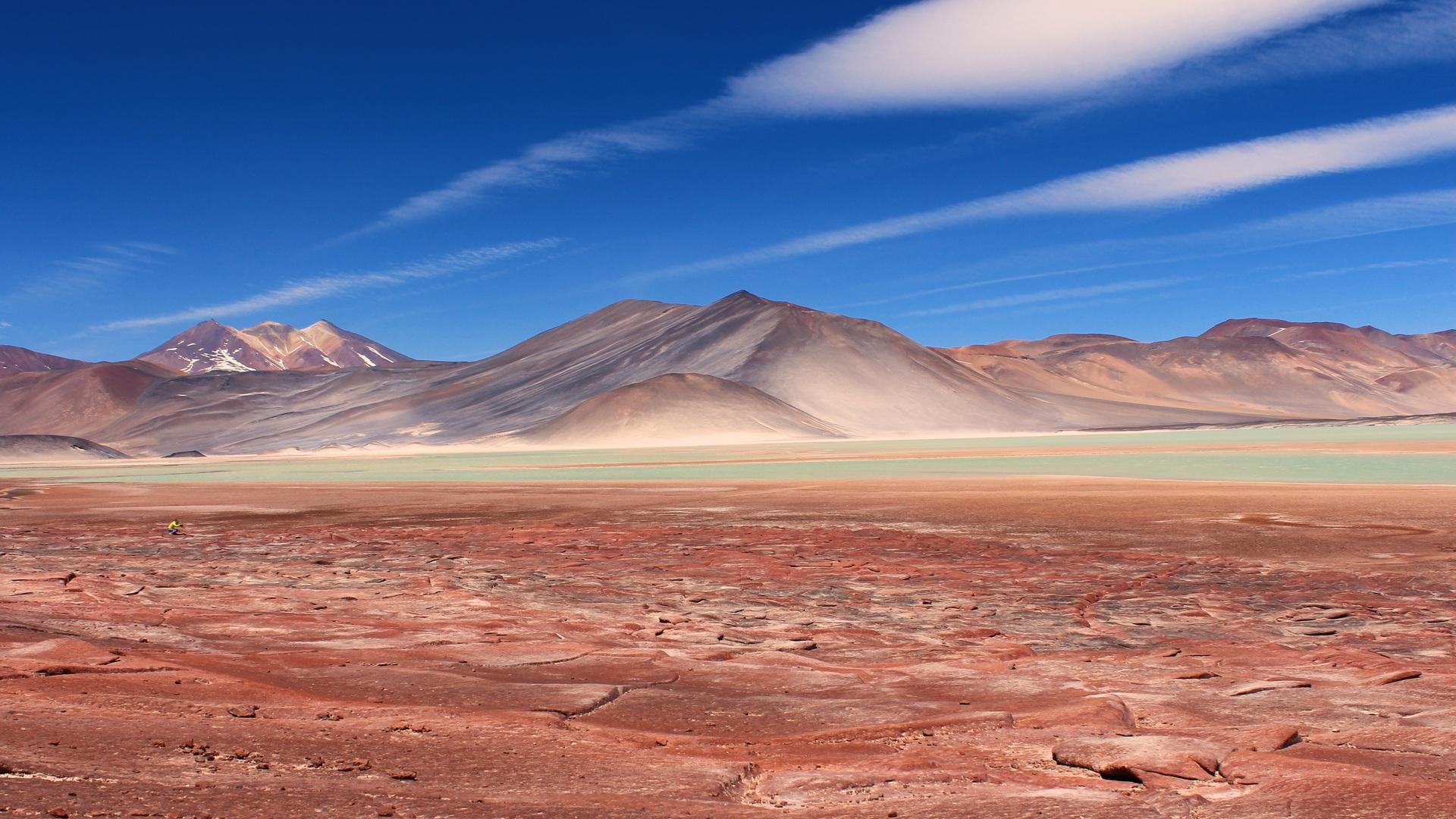 1920x1080 desert landscape sky mountain travel nature laptop full hd