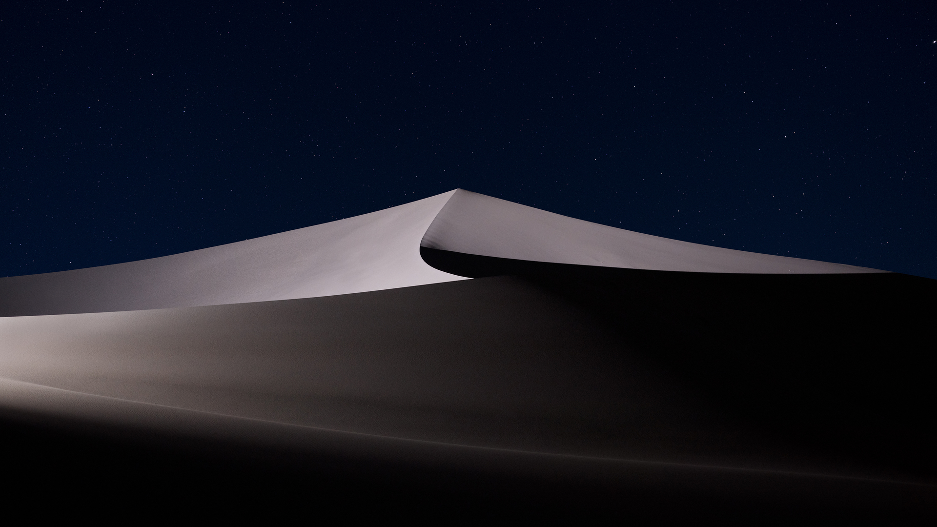 1920x1080 Desert Night Macos Mojave 5k Laptop Full Hd 1080p