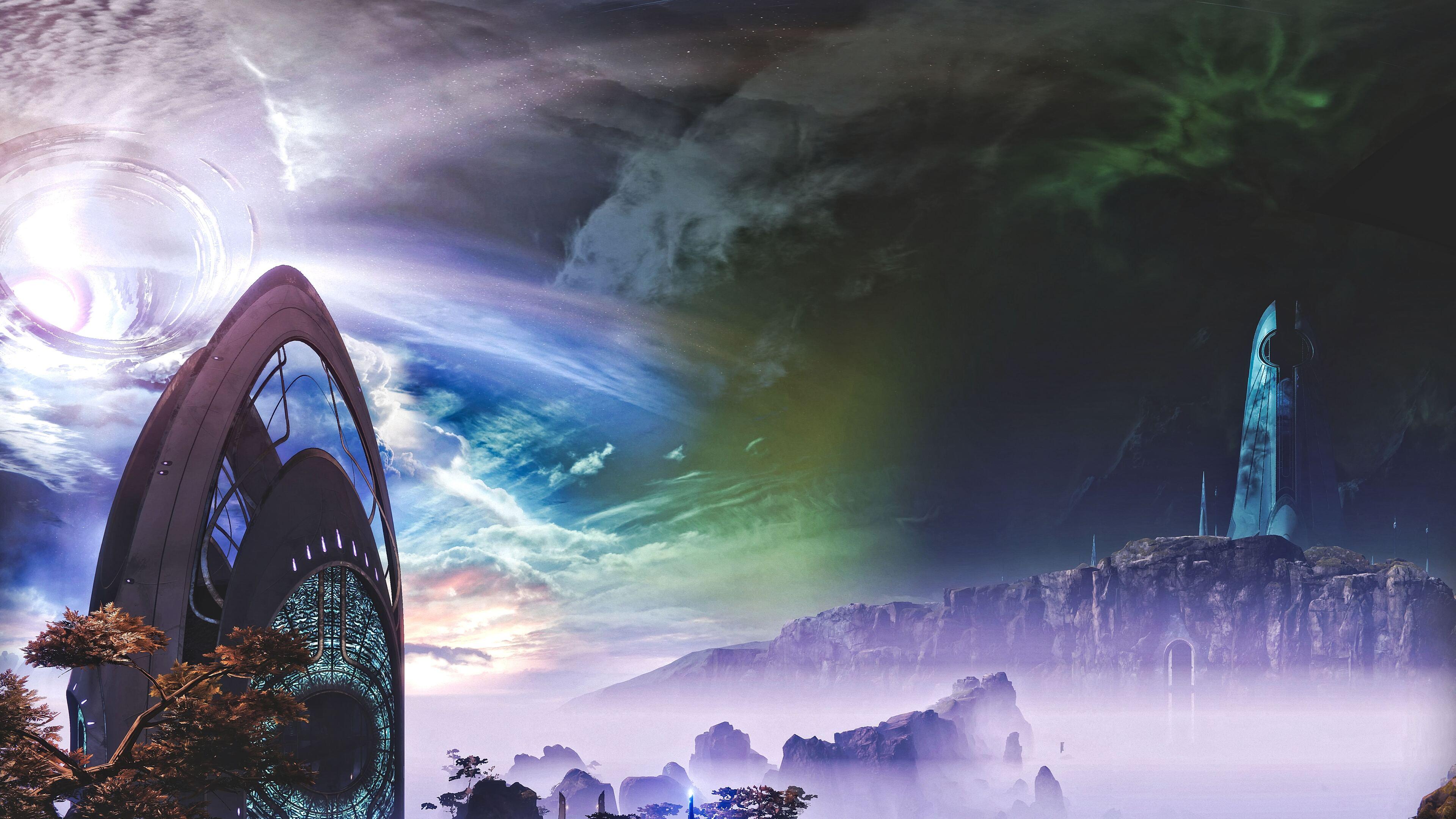 3840x2160 Destiny 2 Dream City 10k 4k HD 4k Wallpapers ...