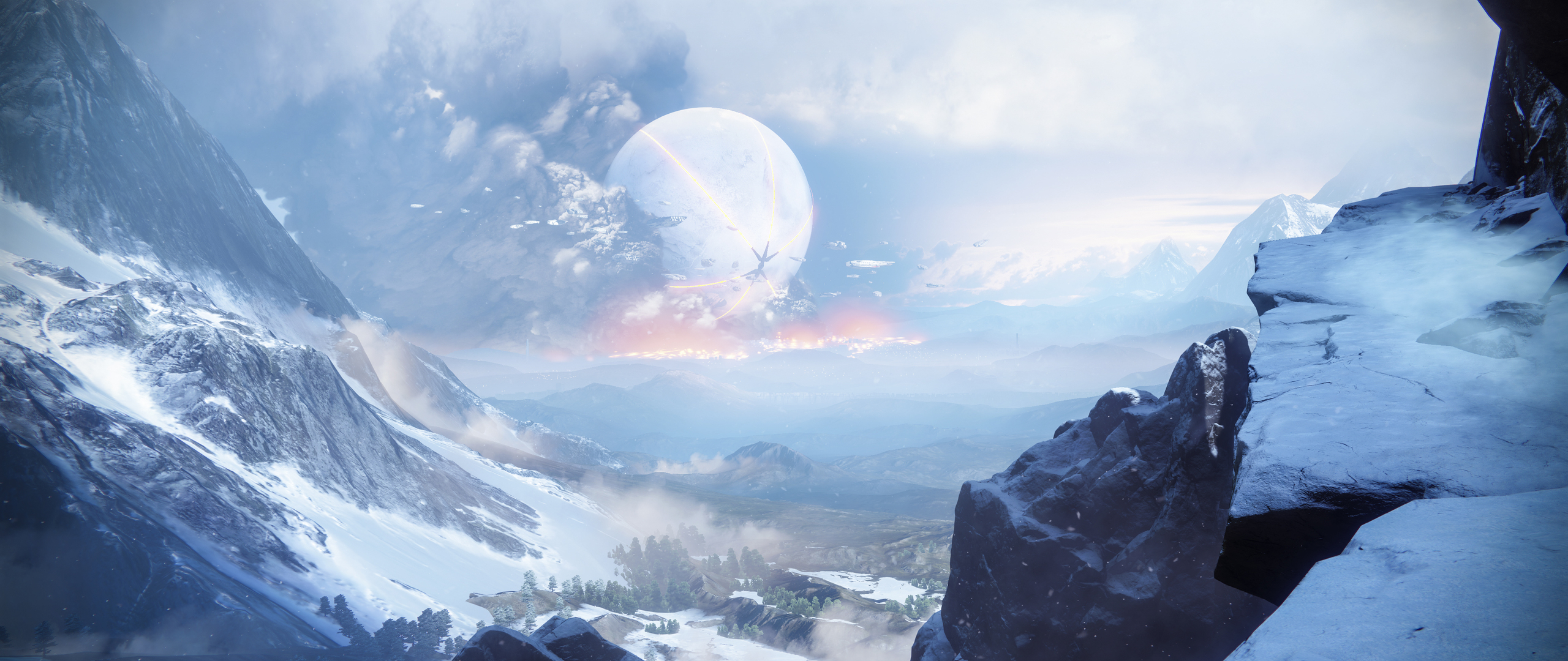2560x1080 Destiny 2 Off The Cliff 4k 2560x1080 Resolution HD 4k Wallpapers, Images, Backgrounds ...