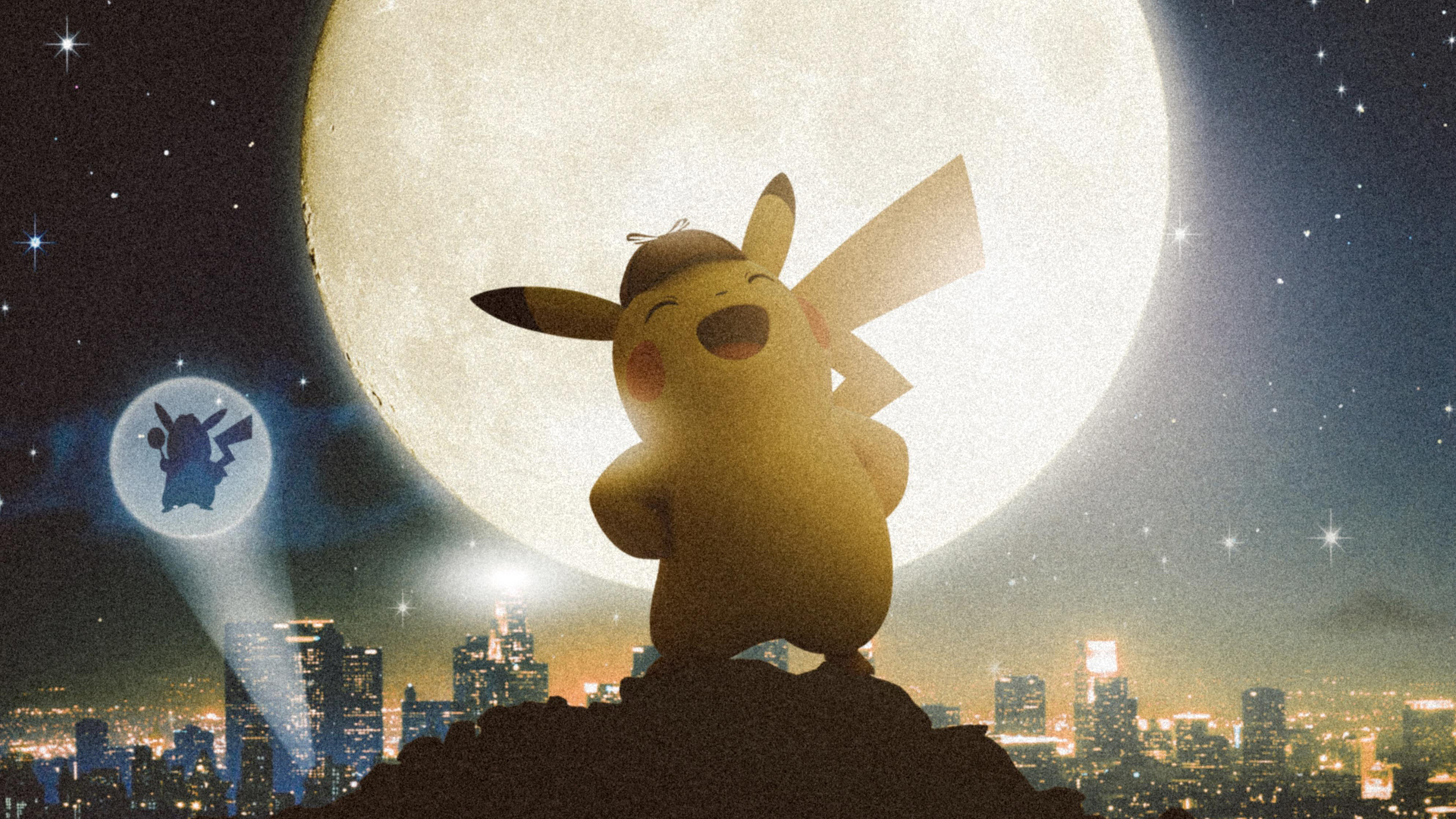 1920x1080 Detective Pikachu Laptop Full HD 1080P HD 4k Wallpapers, Images, Backgrounds, Photos ...