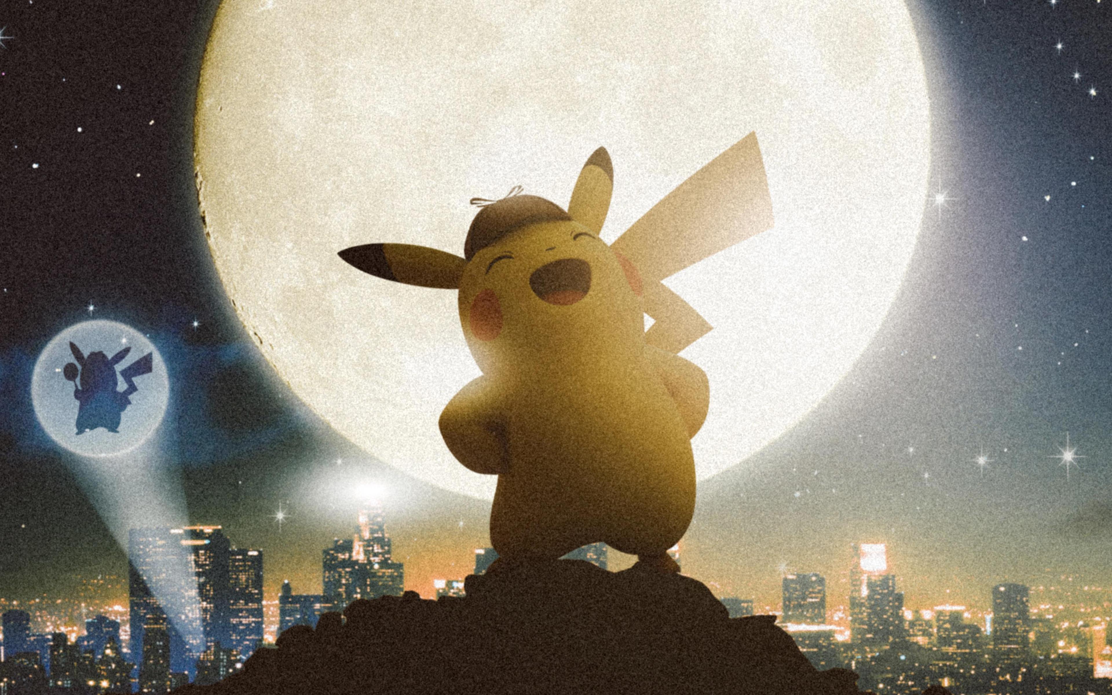3840x2400 Detective Pikachu 4k HD 4k Wallpapers, Images ...