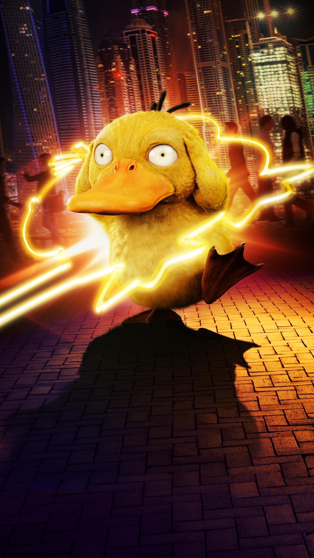 1080x1920 Detective Pikachu Koda Duck Iphone 7,6s,6 Plus ...