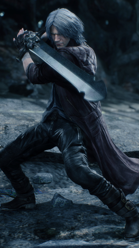 480x854 Devil May Cry 5 4k 2019 Android One HD 4k ...