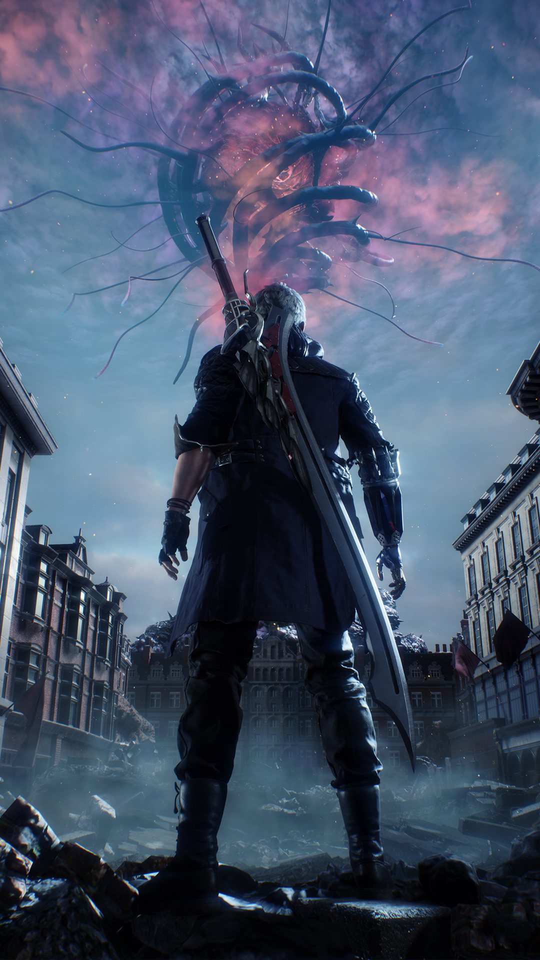 1080x1920 devil may cry 5 key art 4k iphone 7 6s 6 plus pixel xl one plus 3 3t 5 hd 4k - Devil may cry hd pics ...