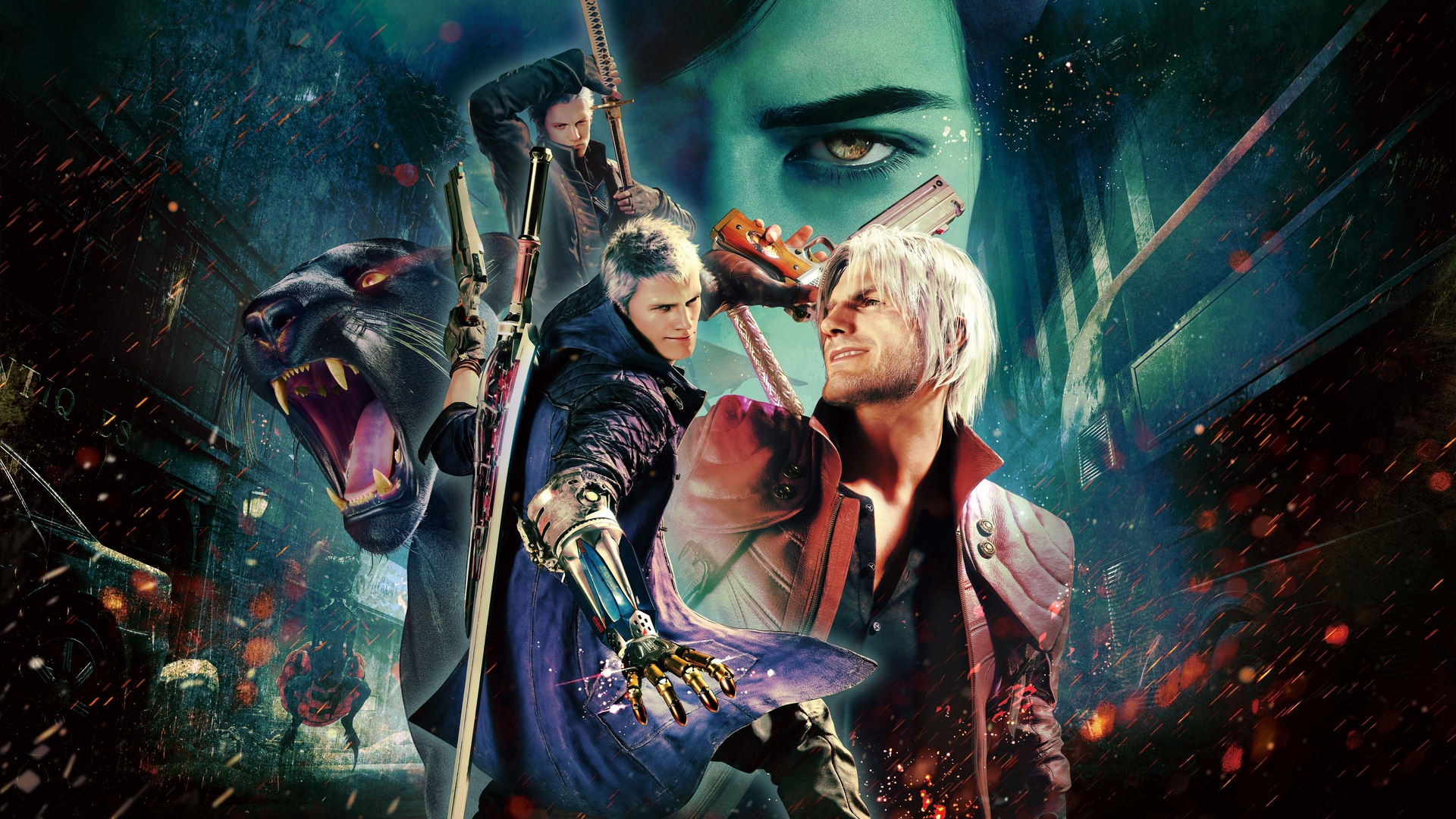 1920x1080 Devil May Cry 5 Special Edition Laptop Full HD ...