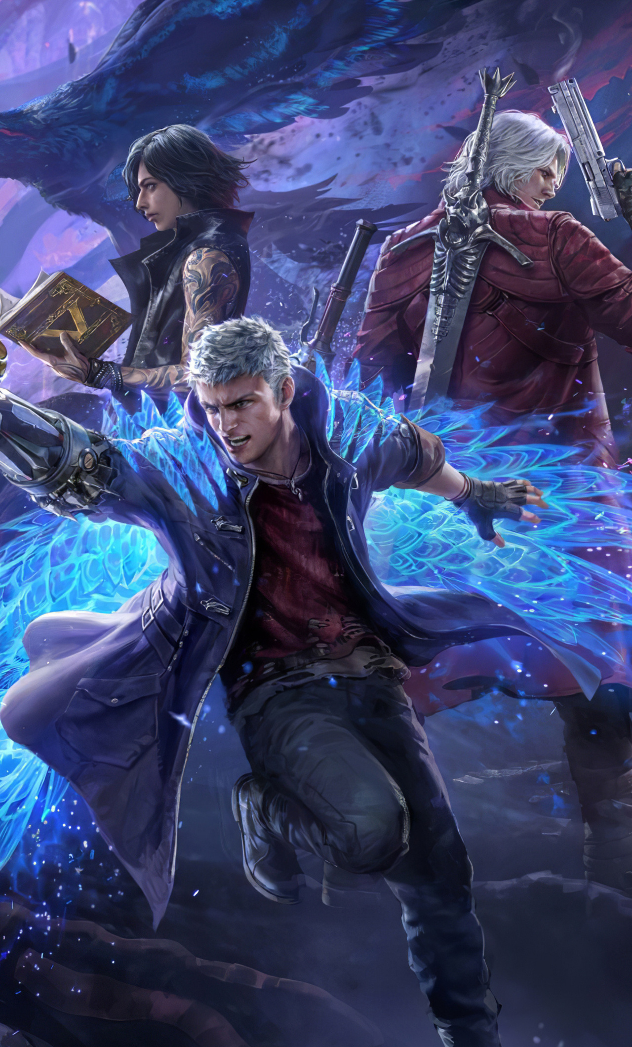1280x2120 Devil May Cry Pack Teppen 4k Iphone 6 Hd 4k Wallpapers