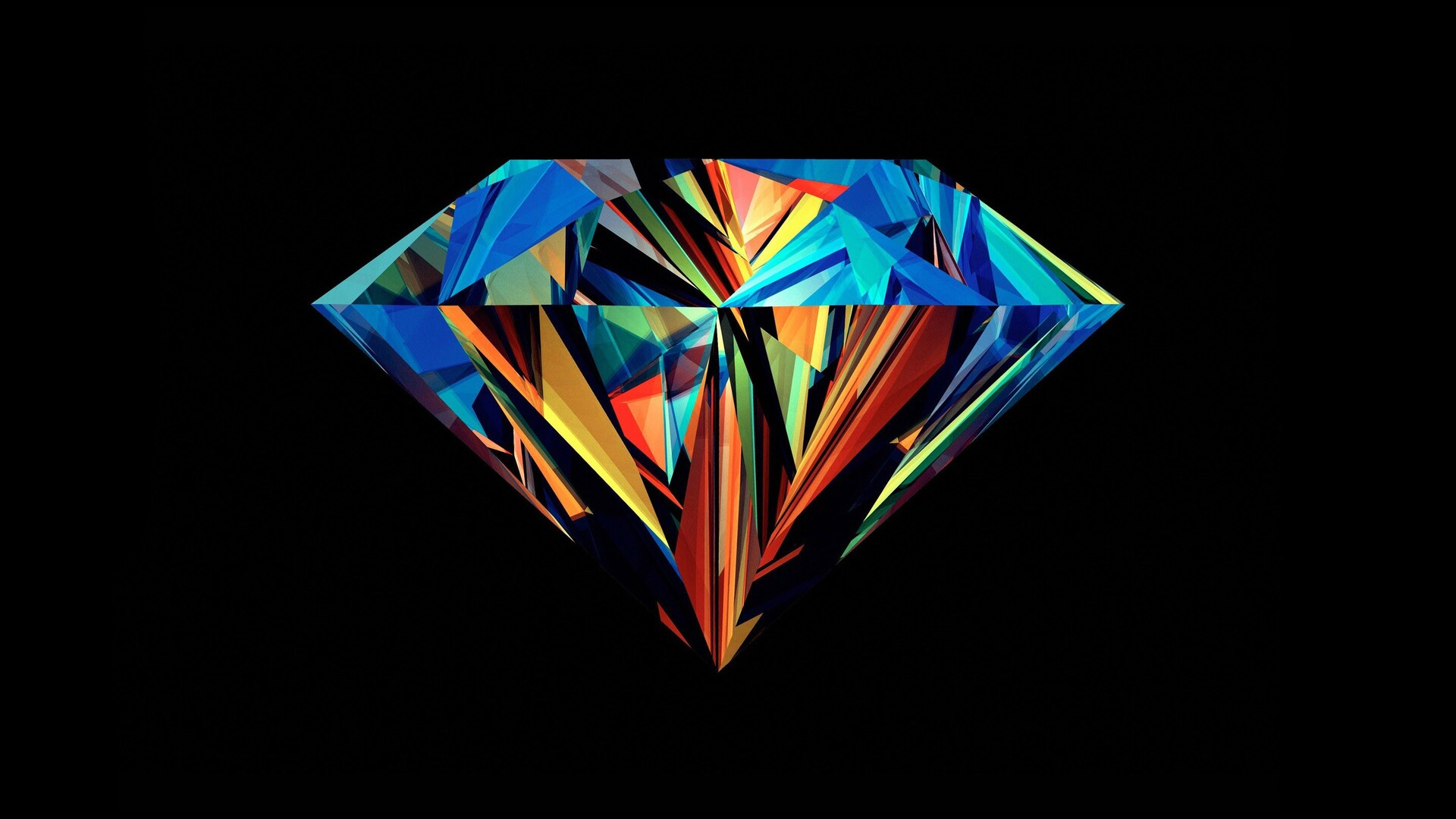 1920x1080 Diamond Abstract Laptop Full Hd 1080p Hd 4k Wallpapers