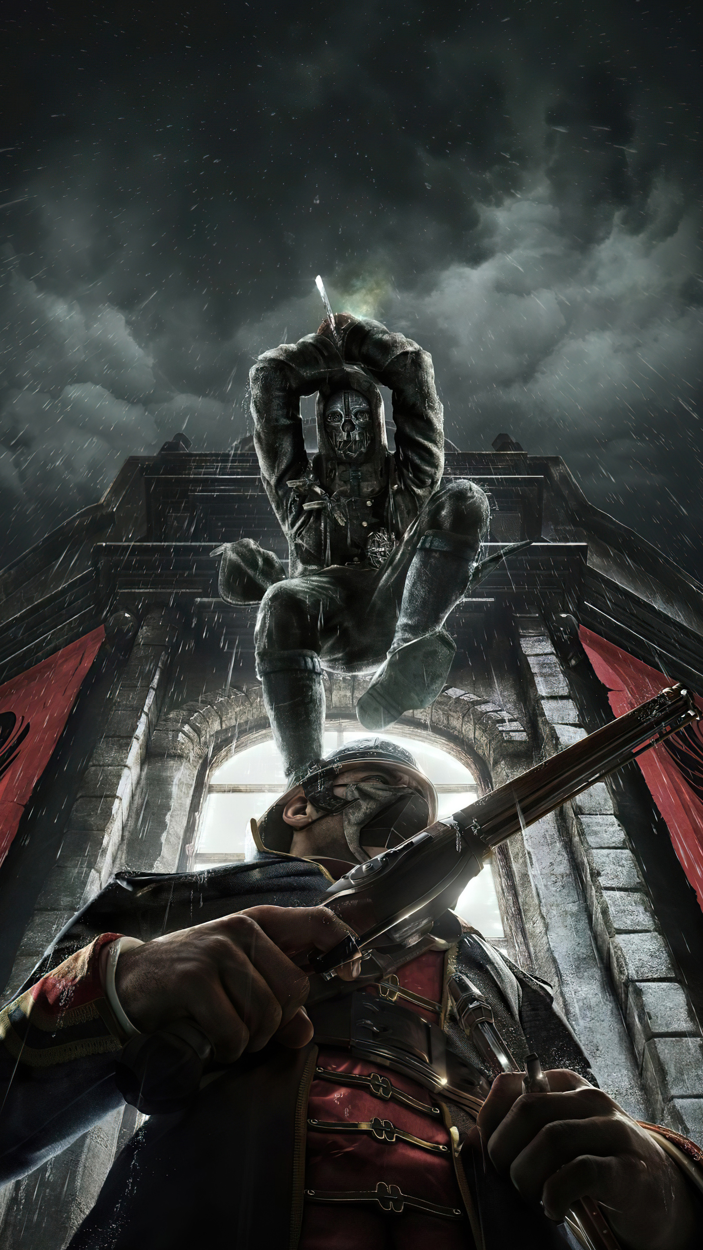 1440x2560 Dishonored Death From Above Samsung Galaxy S6,S7 ...