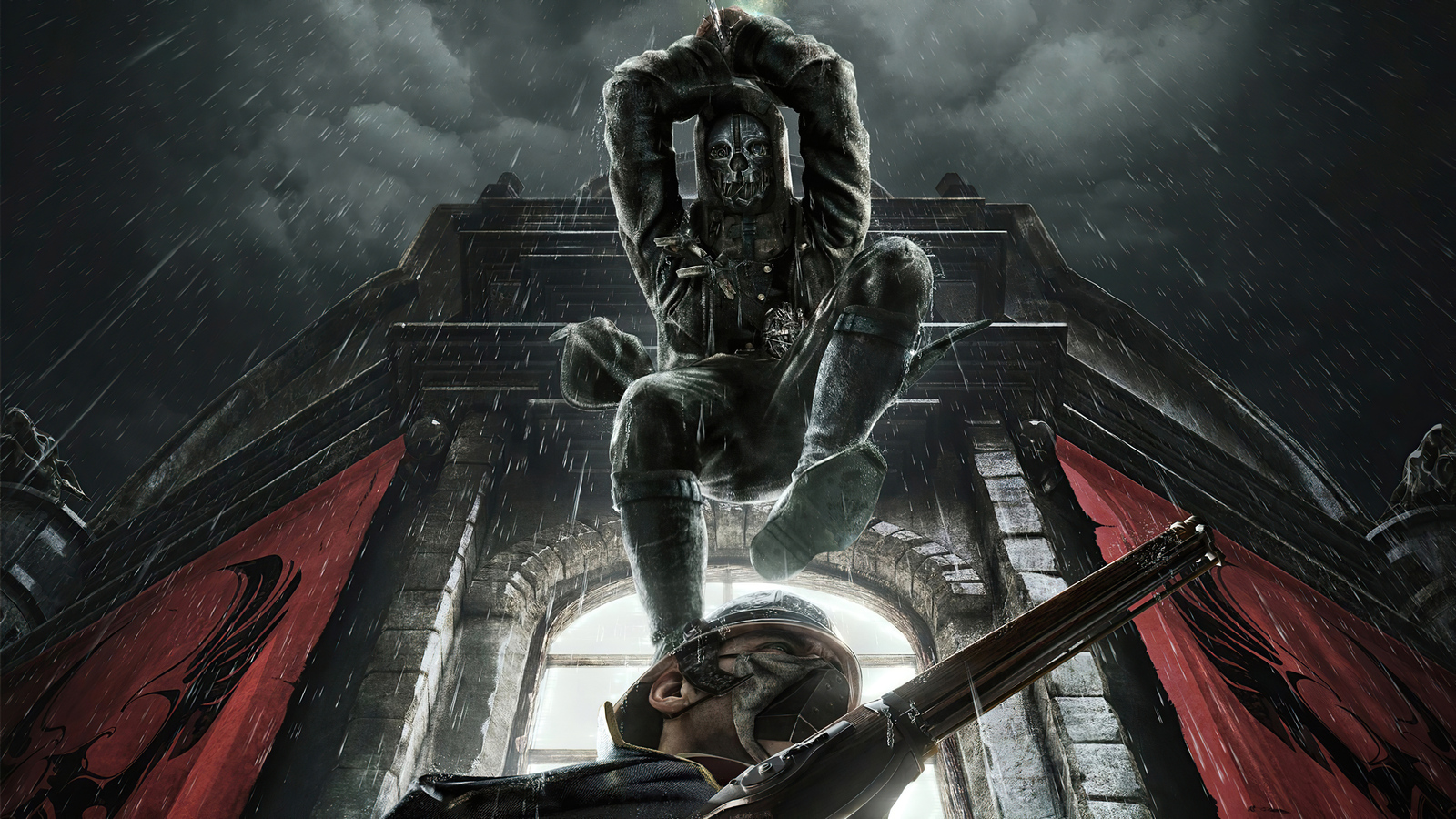 1600x900 Dishonored Death From Above 1600x900 Resolution ...