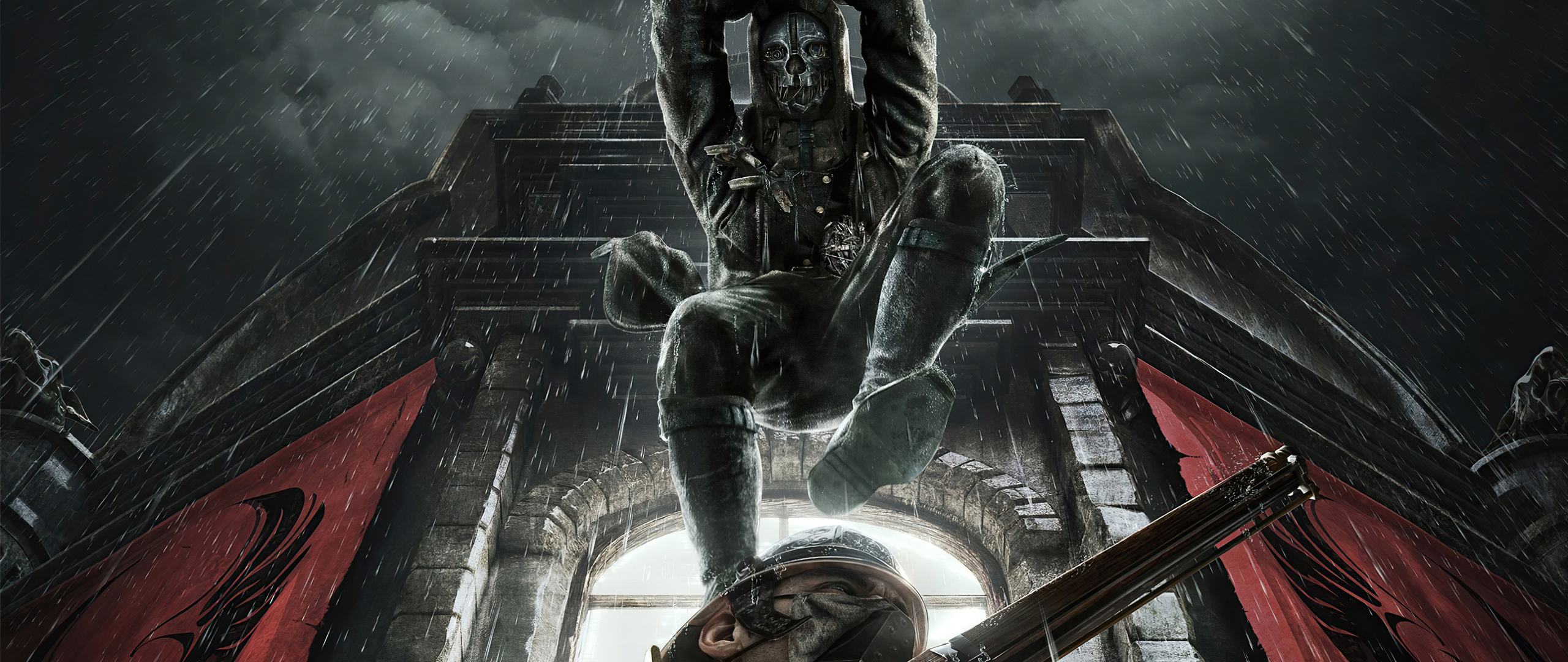 2560x1080 Dishonored Death From Above 2560x1080 Resolution ...