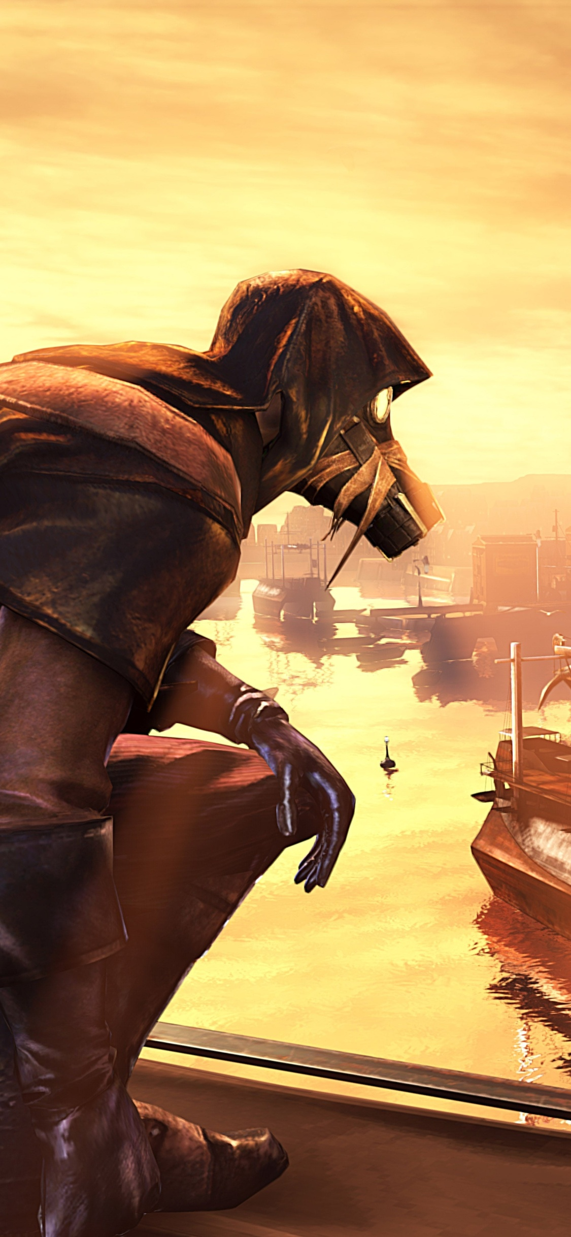 1125x2436 Dishonored The Knife Of Dunwall Iphone XS,Iphone ...
