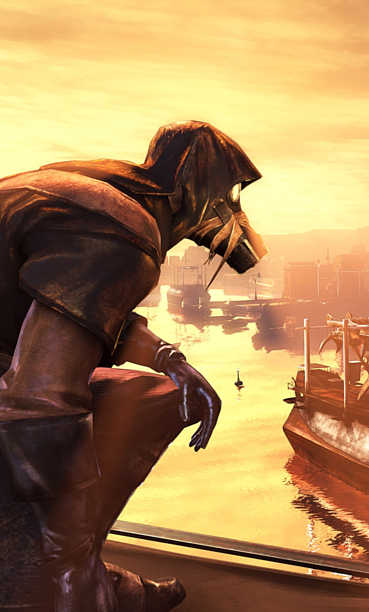 1280x2120 Dishonored The Knife Of Dunwall iPhone 6+ HD 4k ...