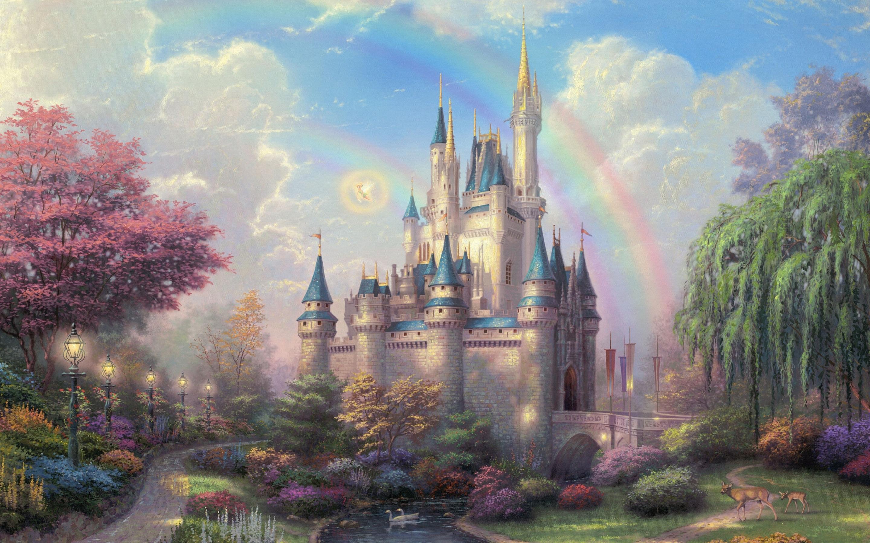 Cool Wallpaper Macbook Disneyland - disneyland-park-art-2880x1800  HD_988176.jpg