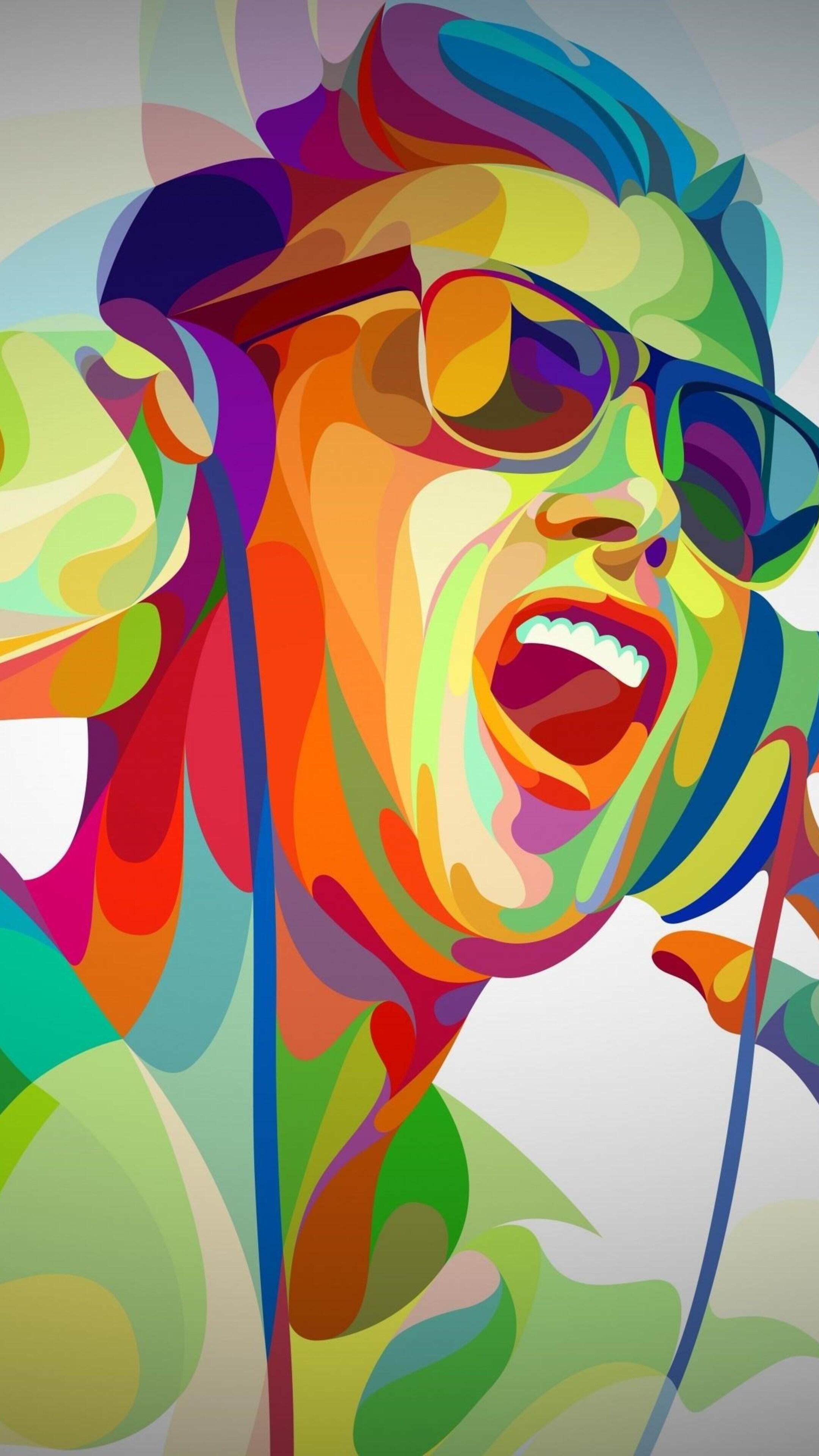 2160x3840 dj boy abstract art sony xperia x xz z5 premium - Art wallpaper 2160x3840 ...