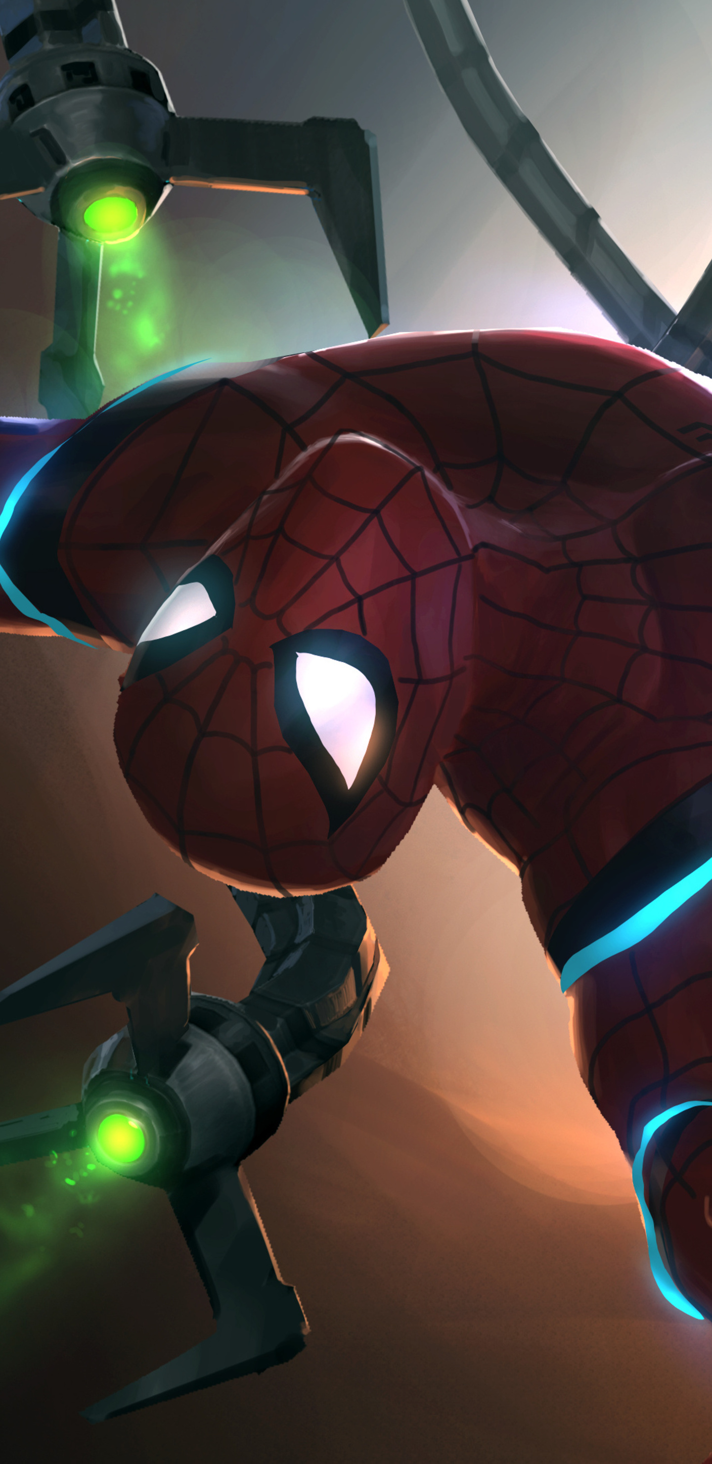 1440x2960 Doctor Octopus Vs Spiderman Contest Of Champions