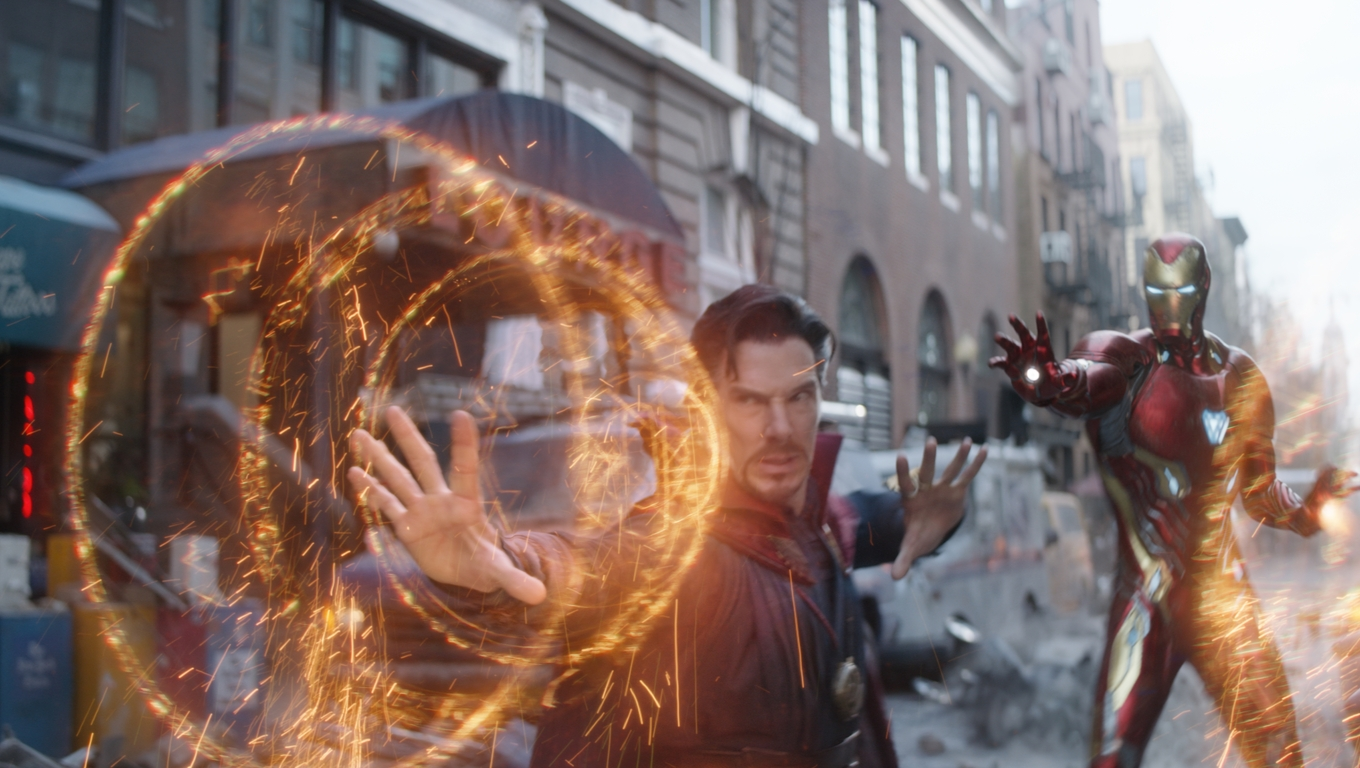 1360x768 Doctor Strange And Iron Man In Avengers Infinity